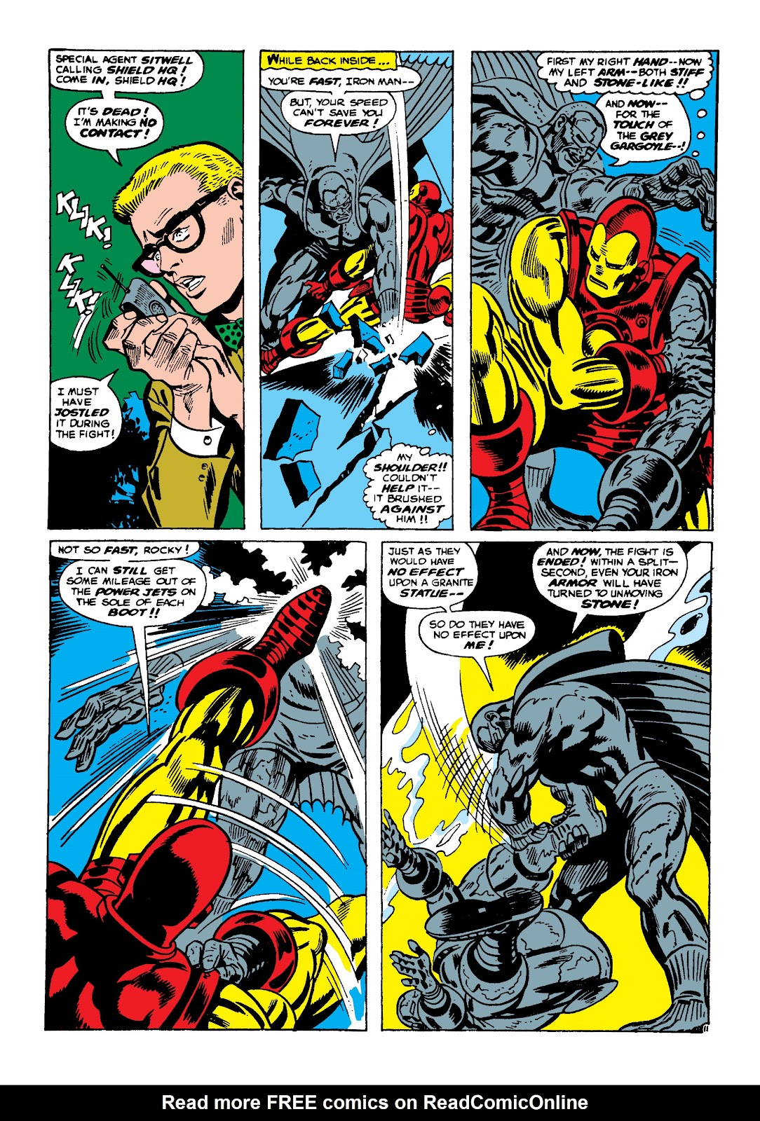 Read online Marvel Masterworks: The Invincible Iron Man comic -  Issue # TPB 4 (Part 2) - 60