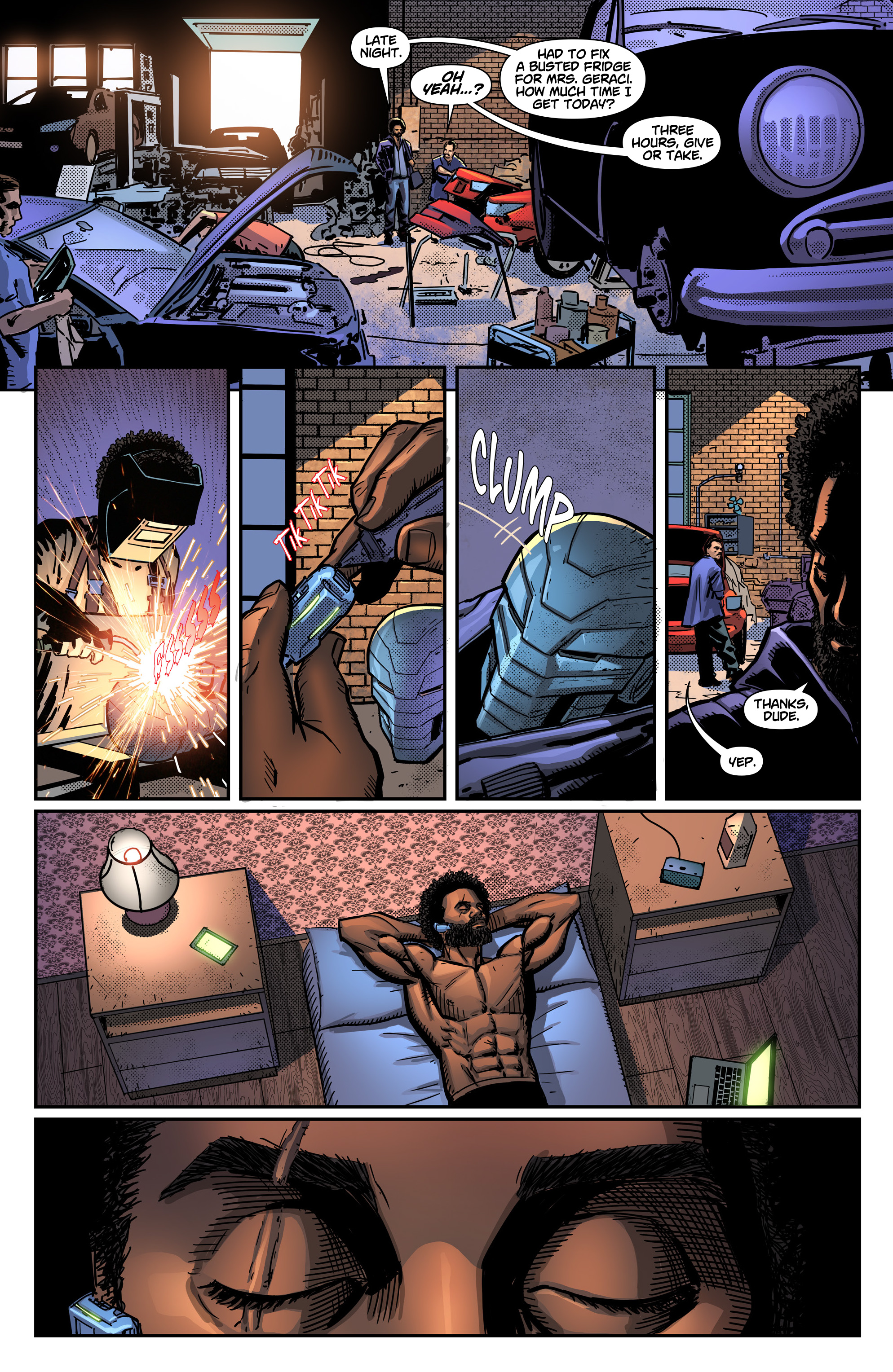 Read online Noble comic -  Issue #2 - 8