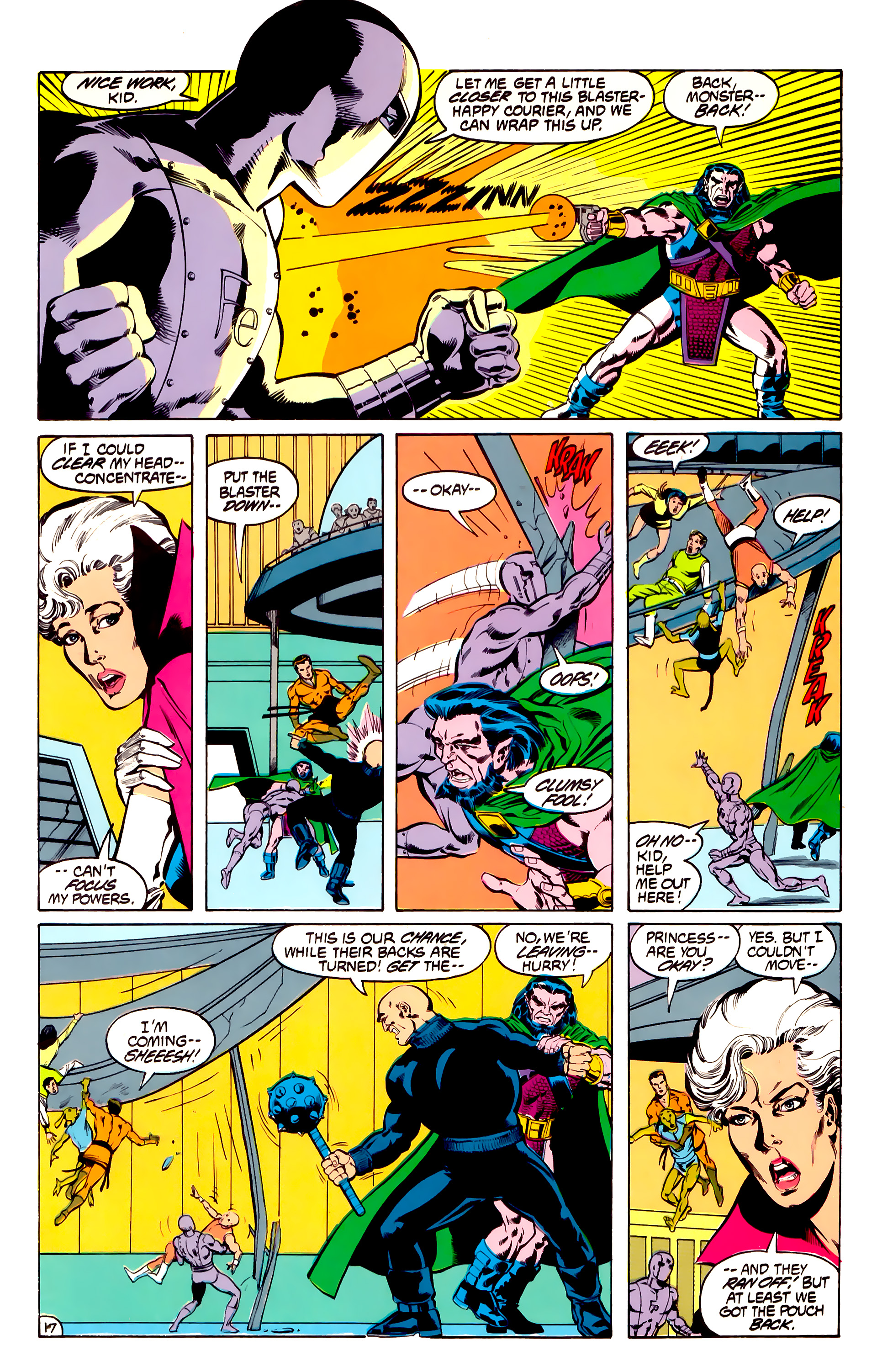 Legion of Super-Heroes (1984) 31 Page 17