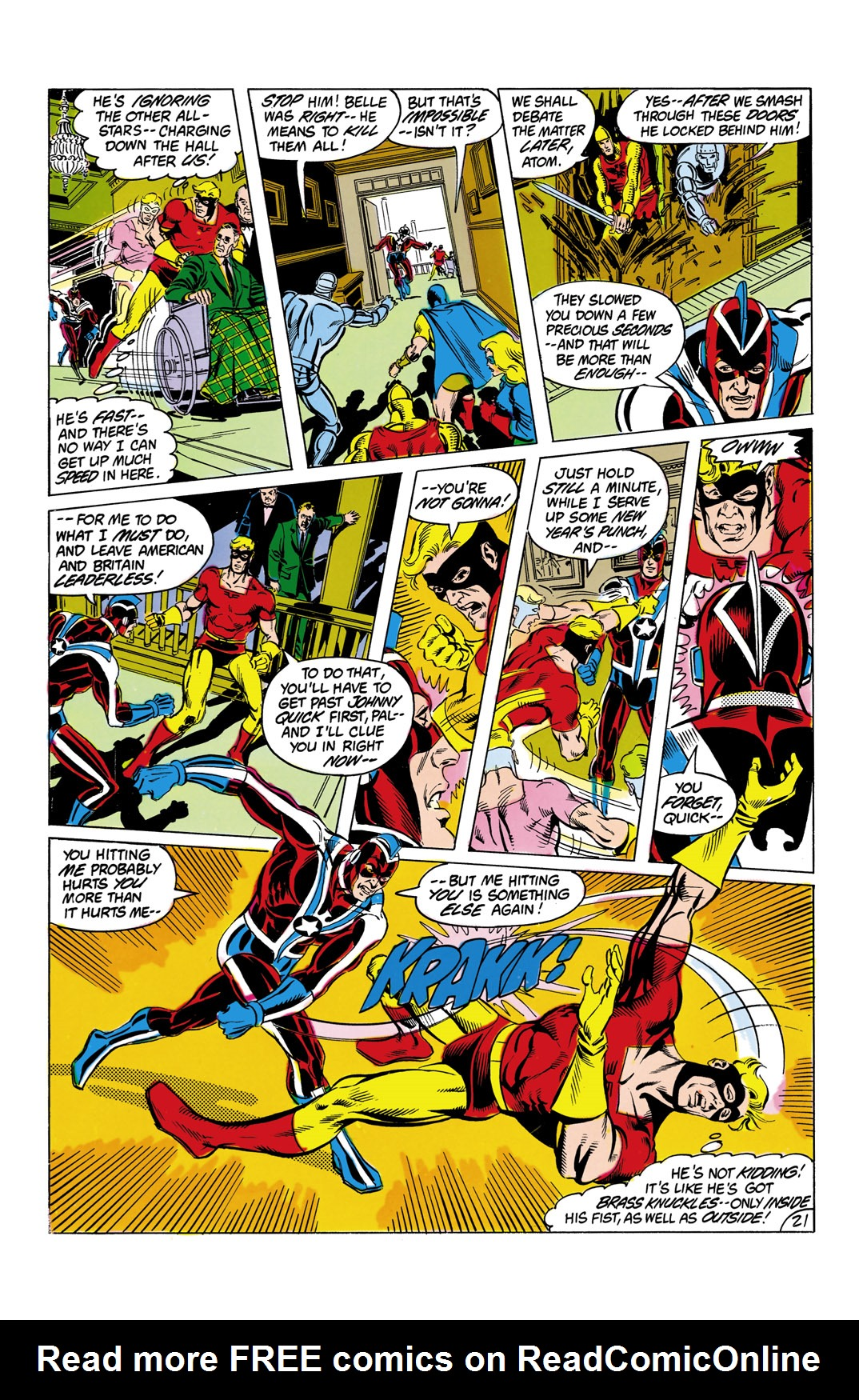 Read online All-Star Squadron comic -  Issue #9 - 22