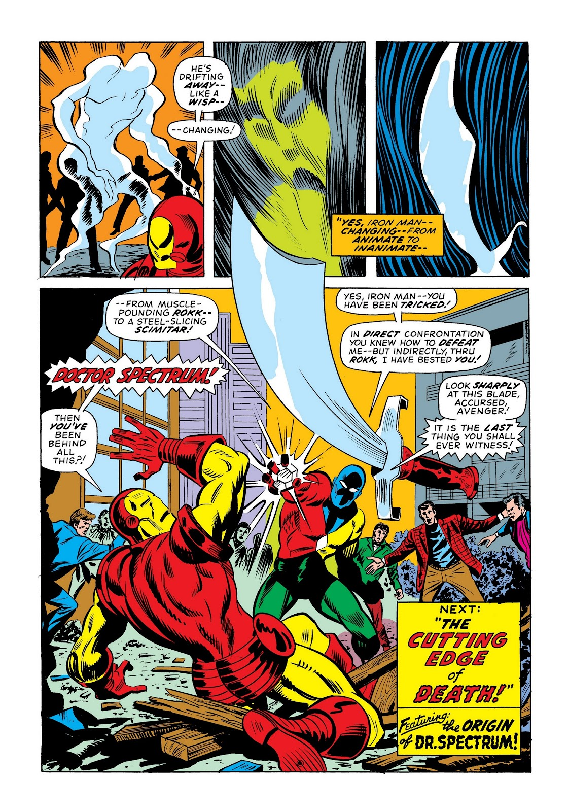 Read online Marvel Masterworks: The Invincible Iron Man comic -  Issue # TPB 9 (Part 3) - 32