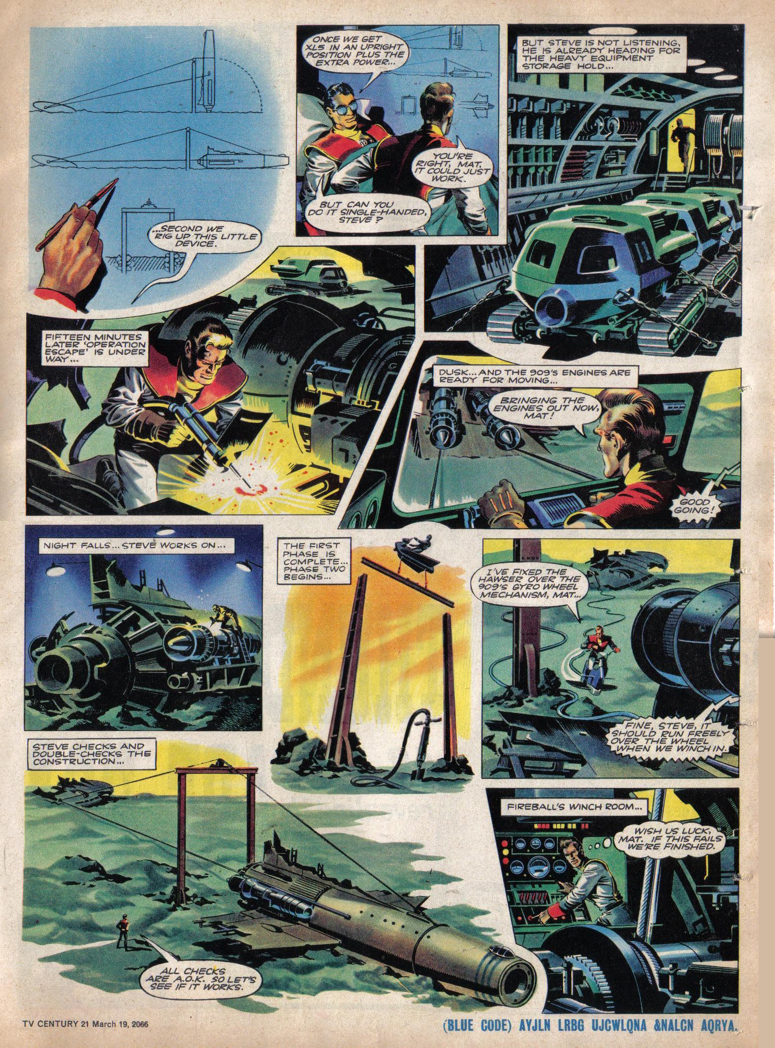 Read online TV Century 21 (TV 21) comic -  Issue #61 - 16