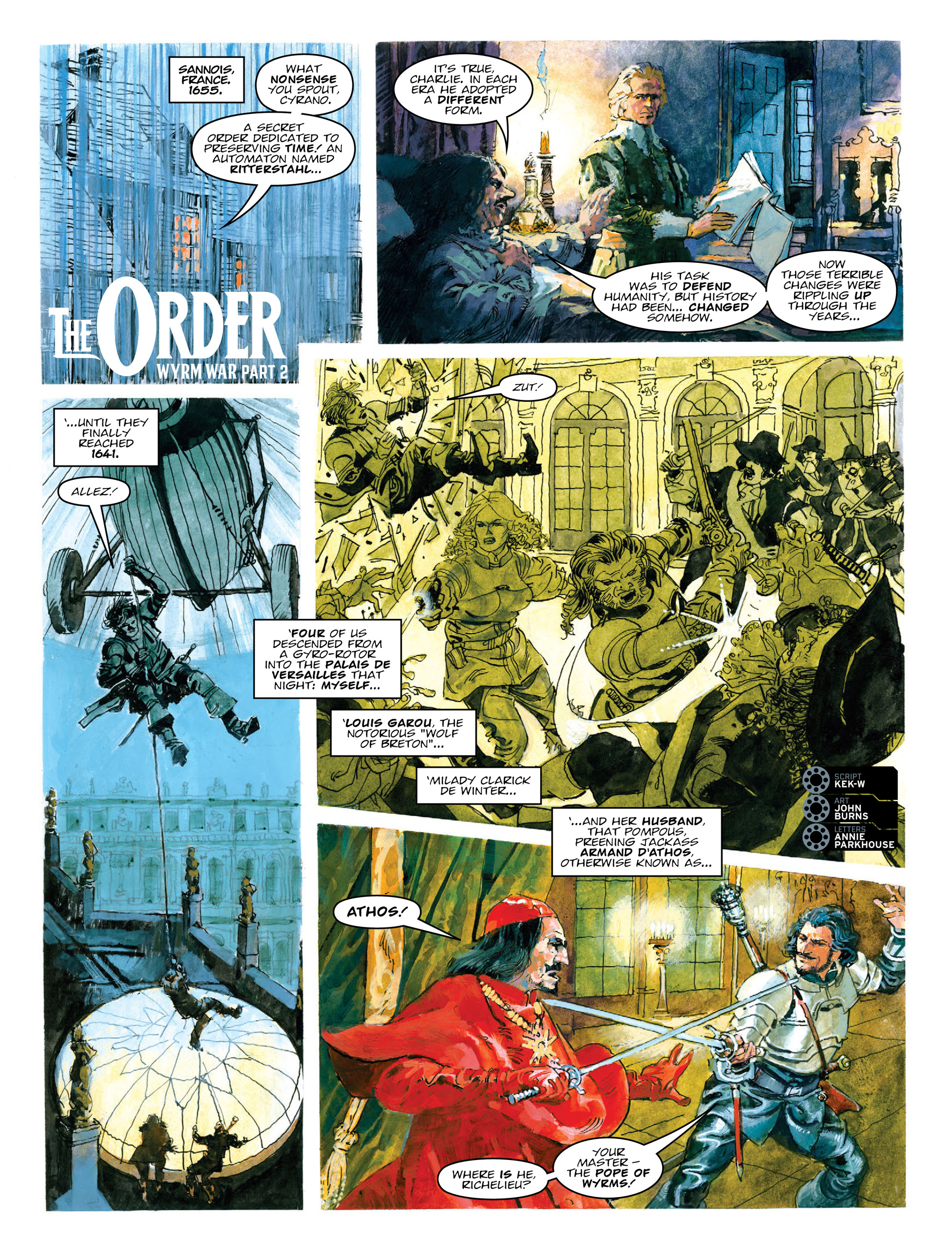 Read online 2000 AD comic -  Issue #2012 - 20