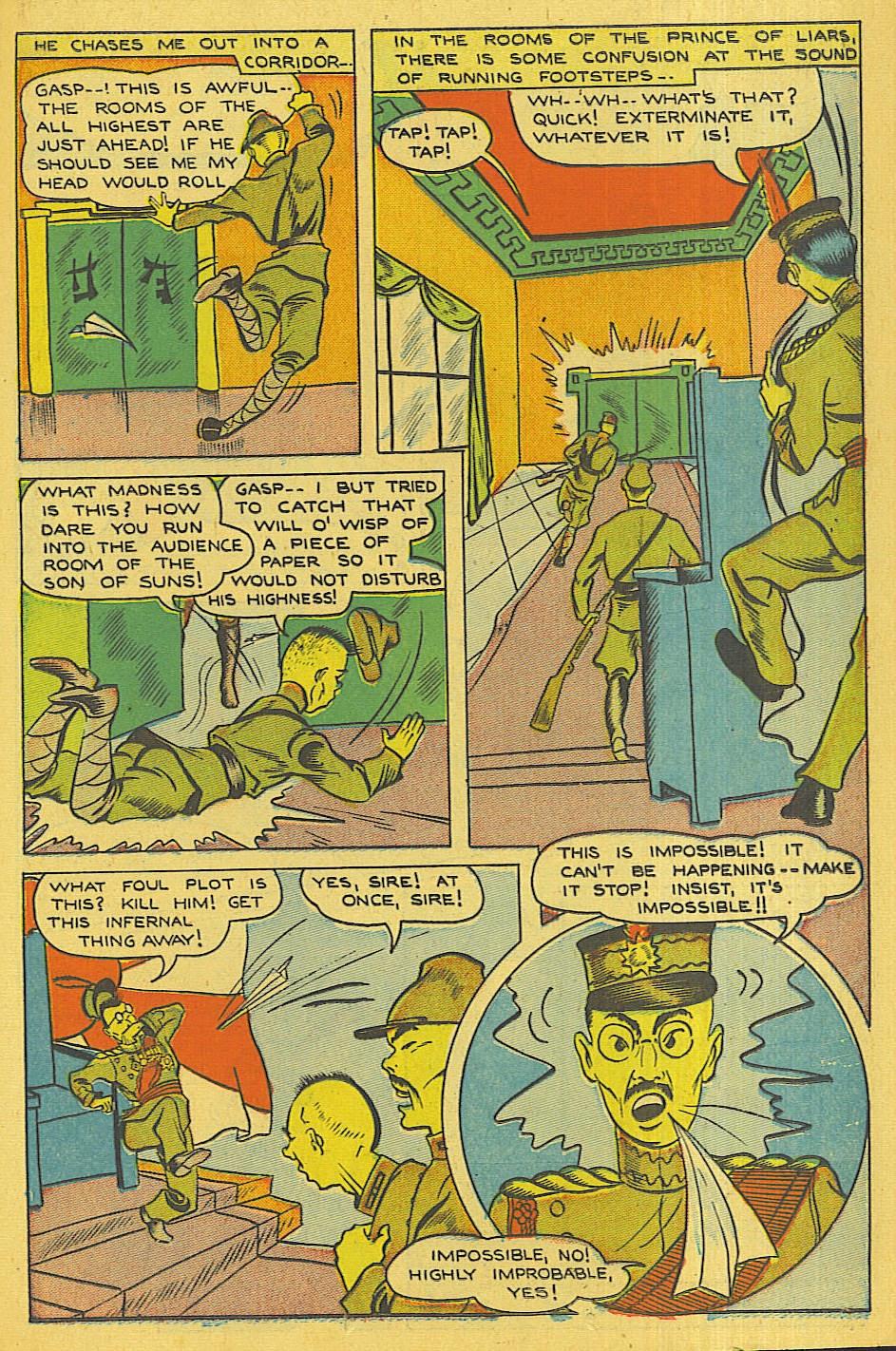 Read online Super-Magician Comics comic -  Issue #42 - 30