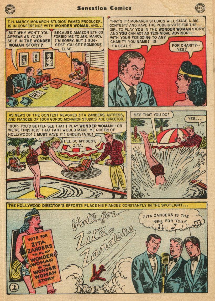 Read online Sensation (Mystery) Comics comic -  Issue #100 - 4