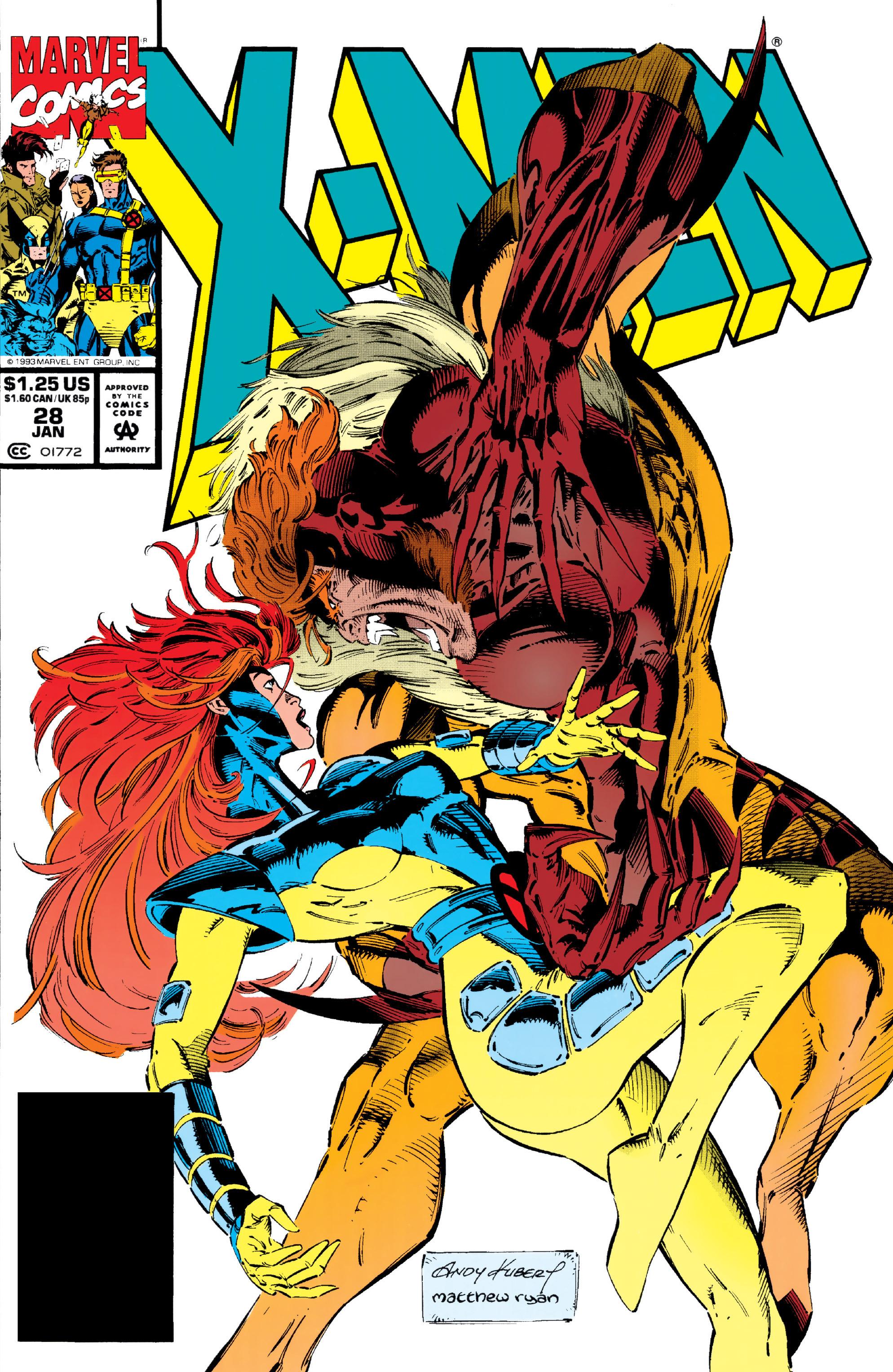 X-Men (1991) 28 Page 0