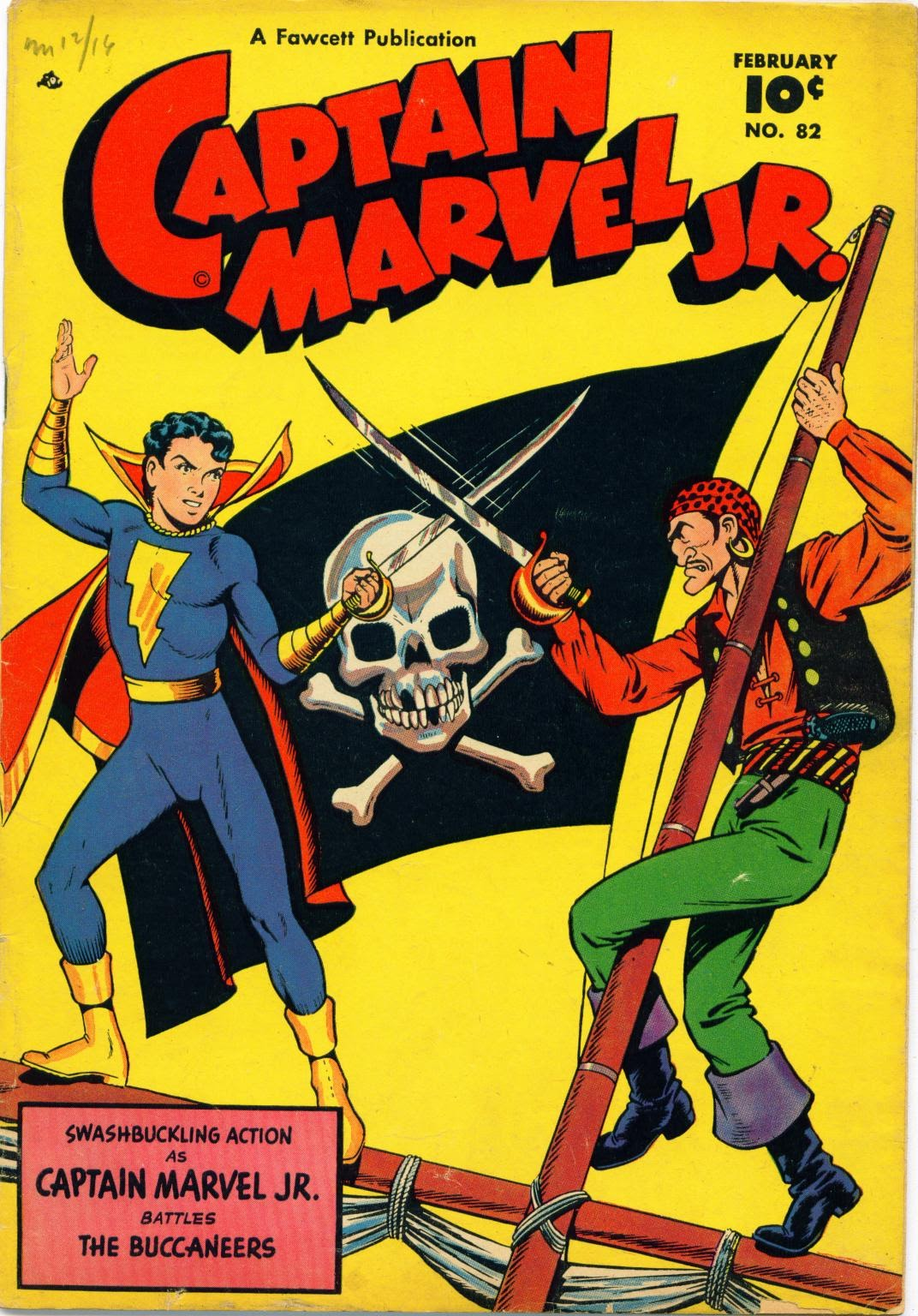 Captain Marvel, Jr. issue 82 - Page 1