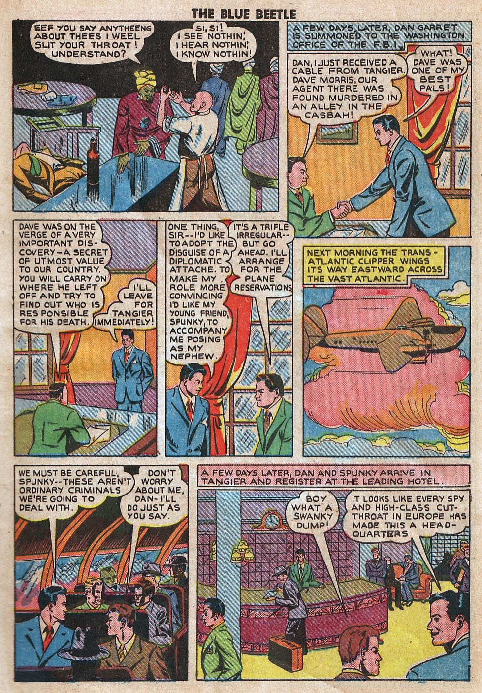 The Blue Beetle issue 33 - Page 5