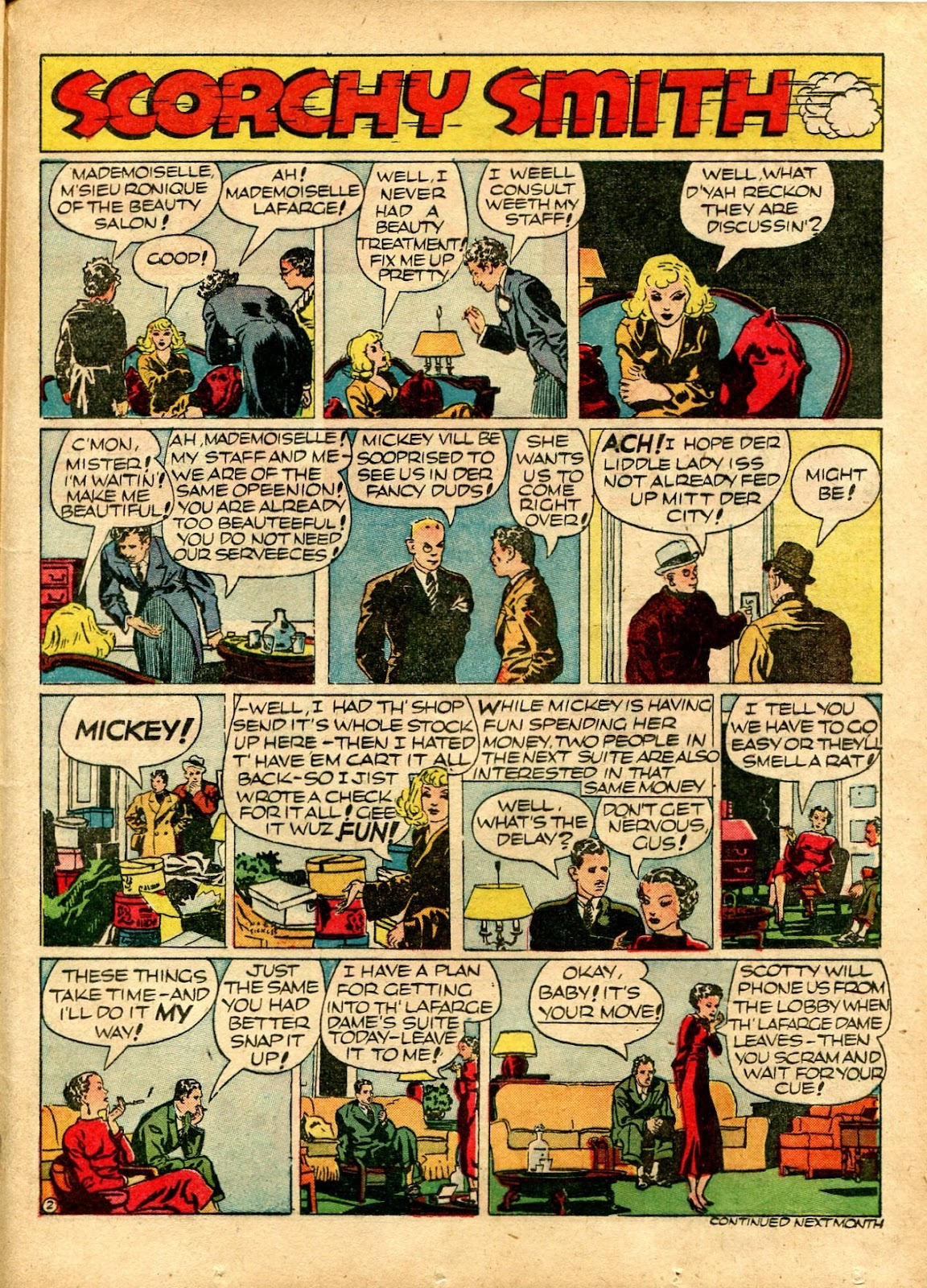 Read online Famous Funnies comic -  Issue #72 - 47