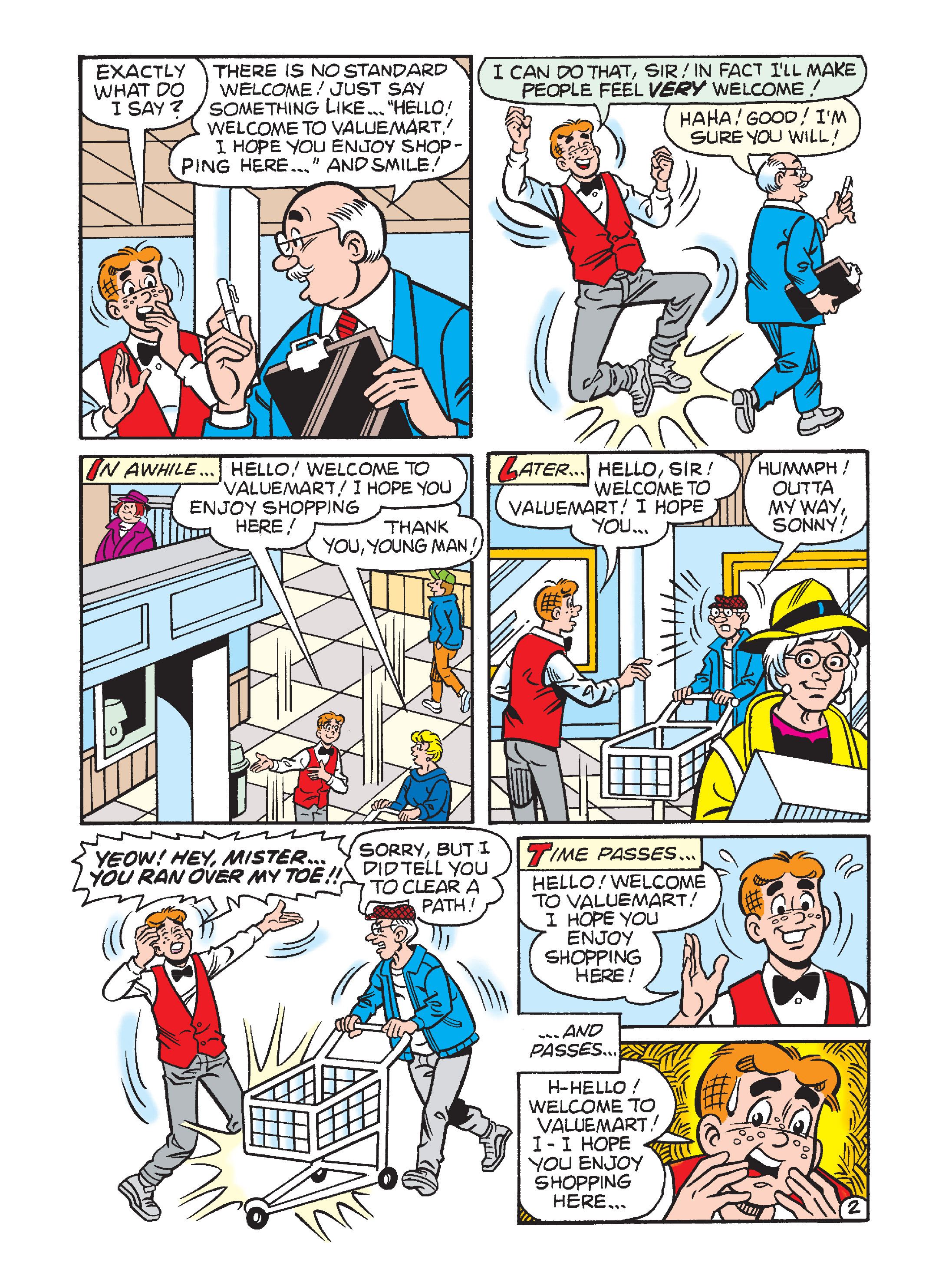 Read online Archie's Funhouse Double Digest comic -  Issue #1 - 69