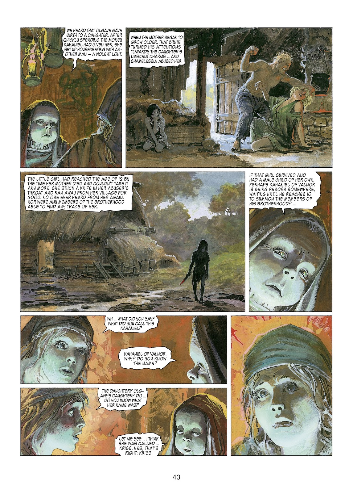 Read online Thorgal comic -  Issue #22 - 45