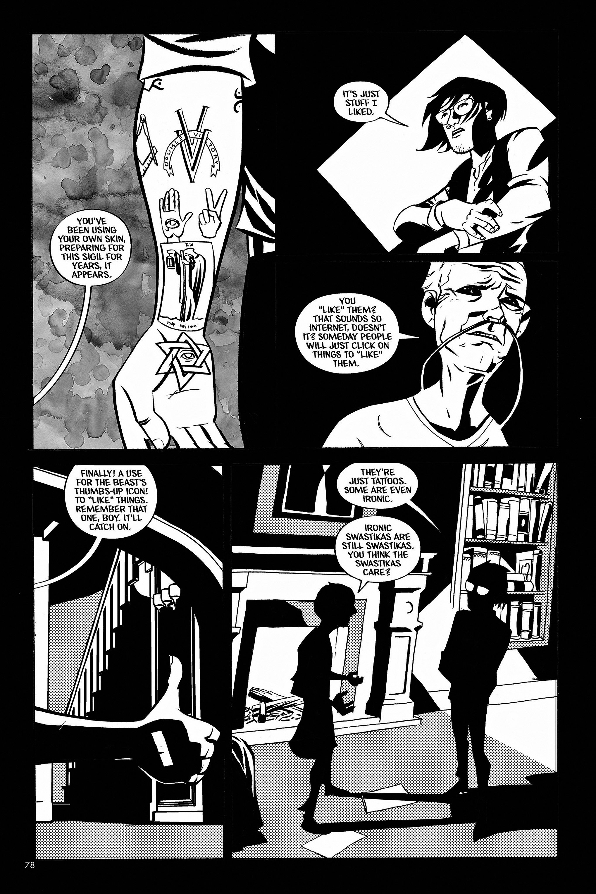 Read online Aleister & Adolf comic -  Issue # TPB - 76