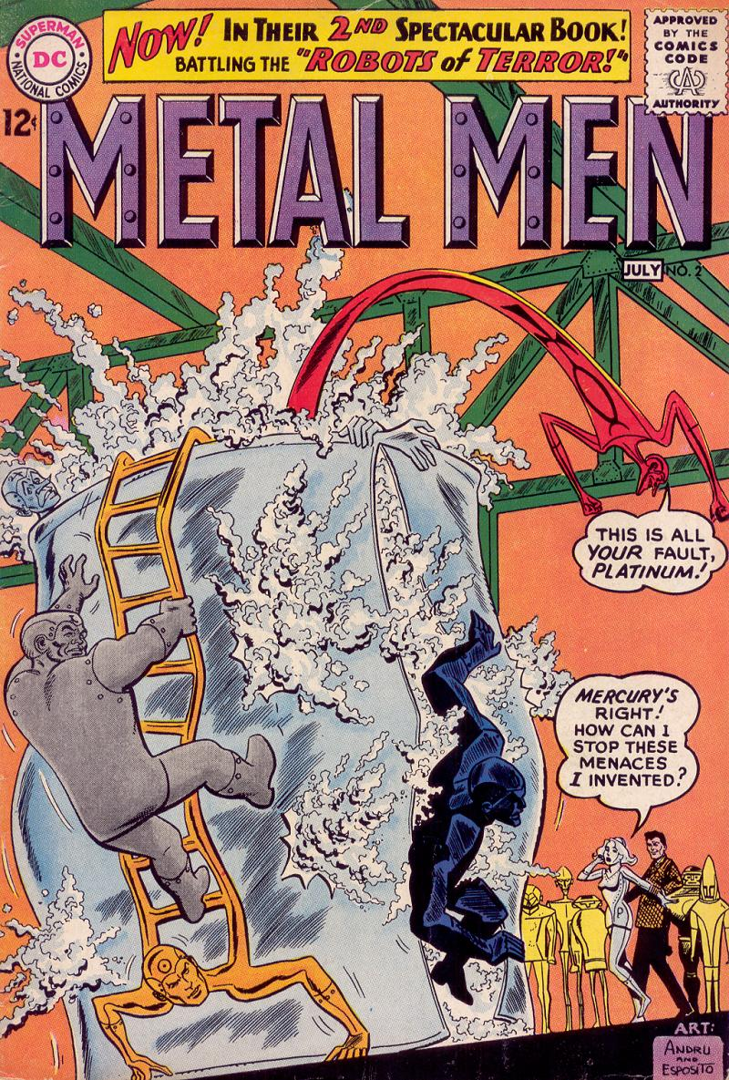 Metal Men (1963) issue 2 - Page 1