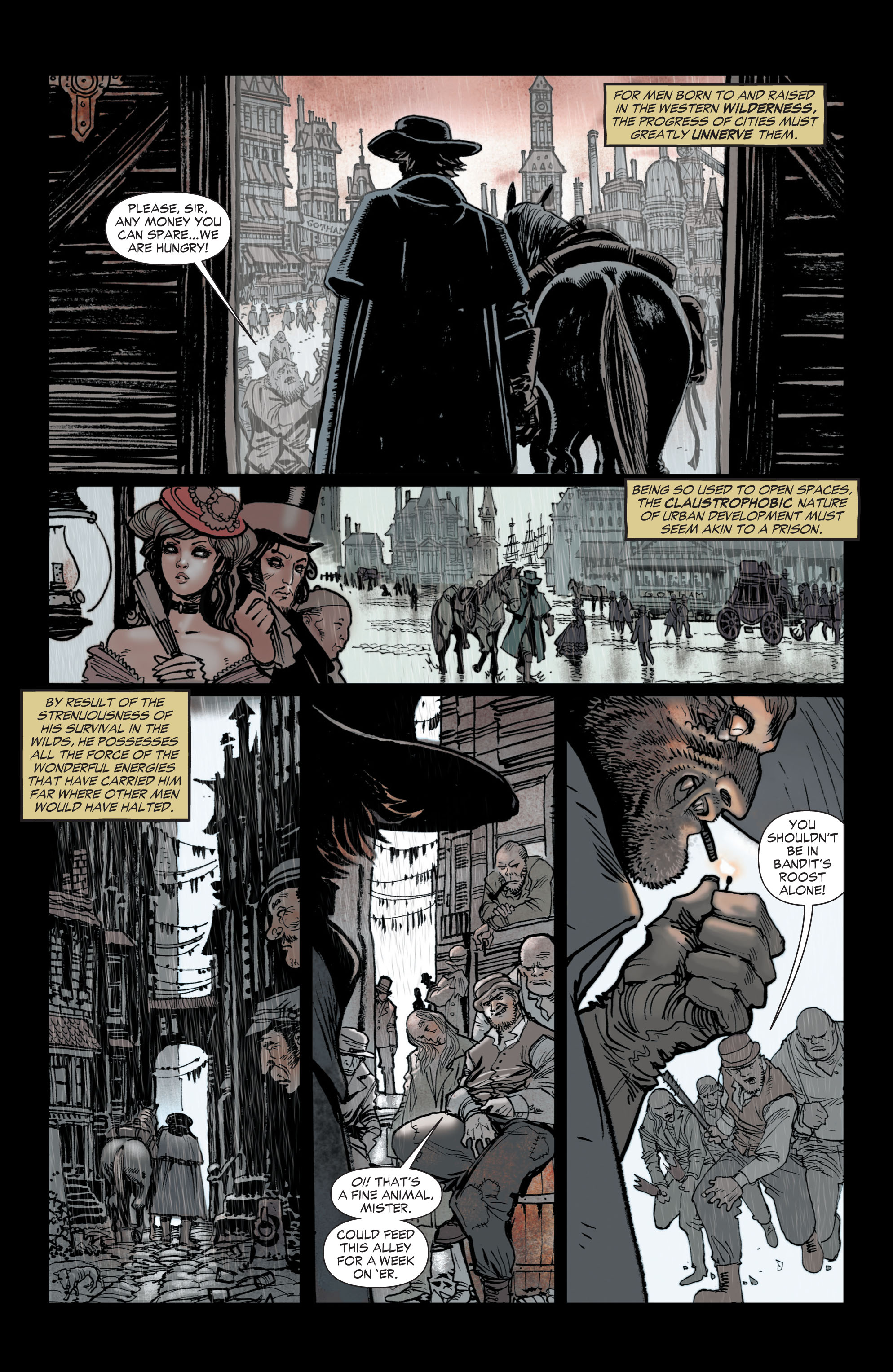 Read online All-Star Western (2011) comic -  Issue #1 - 4