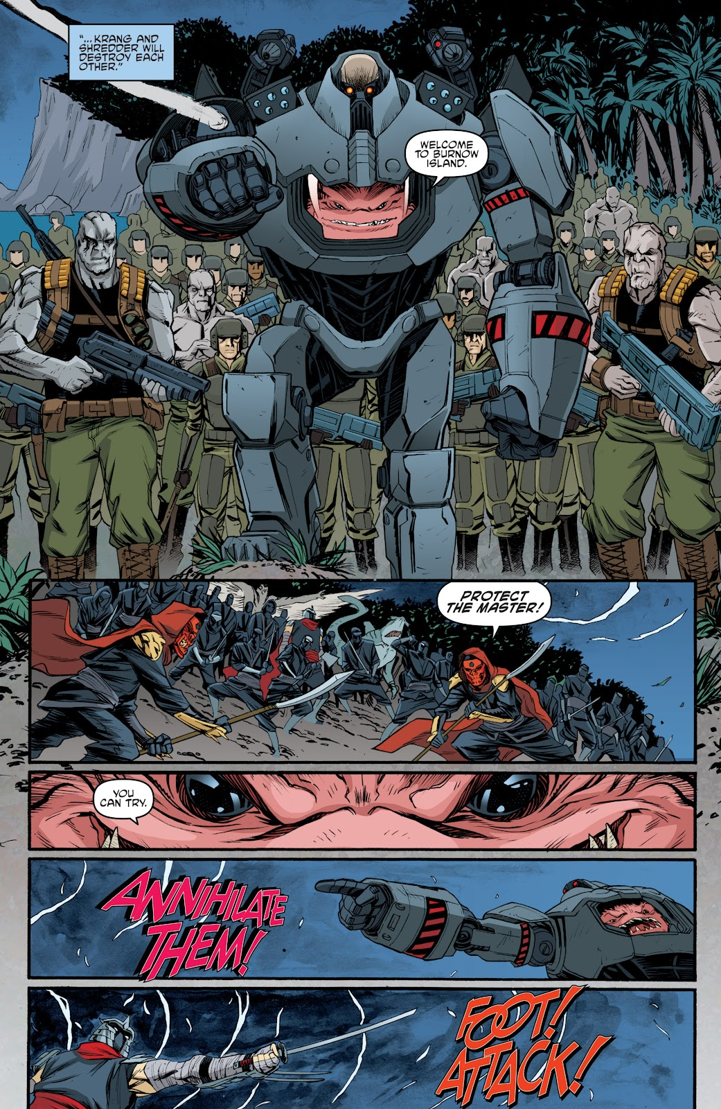 Read online Teenage Mutant Ninja Turtles: The IDW Collection comic -  Issue # TPB 5 (Part 4) - 6