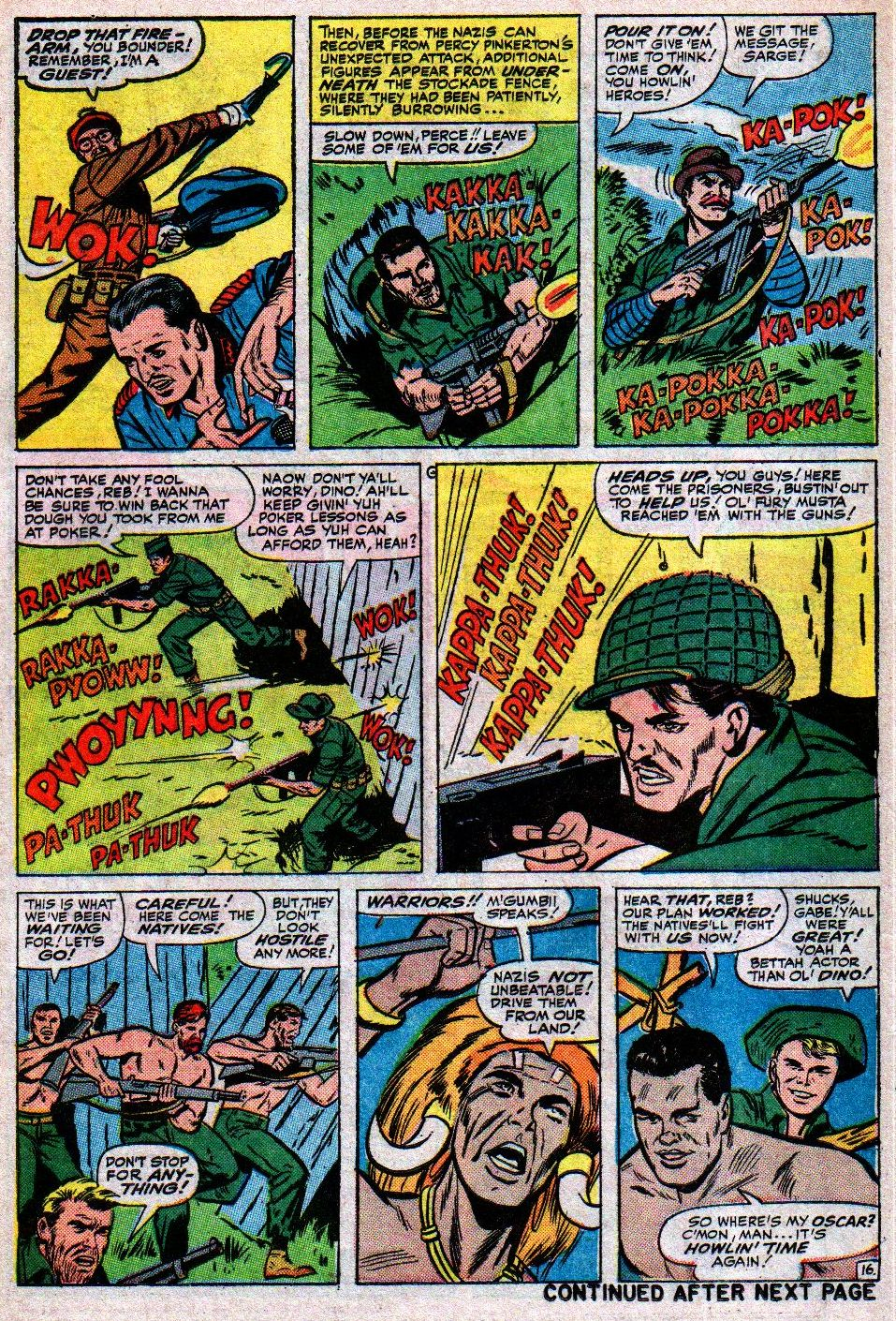 Read online Sgt. Fury comic -  Issue #17 - 22