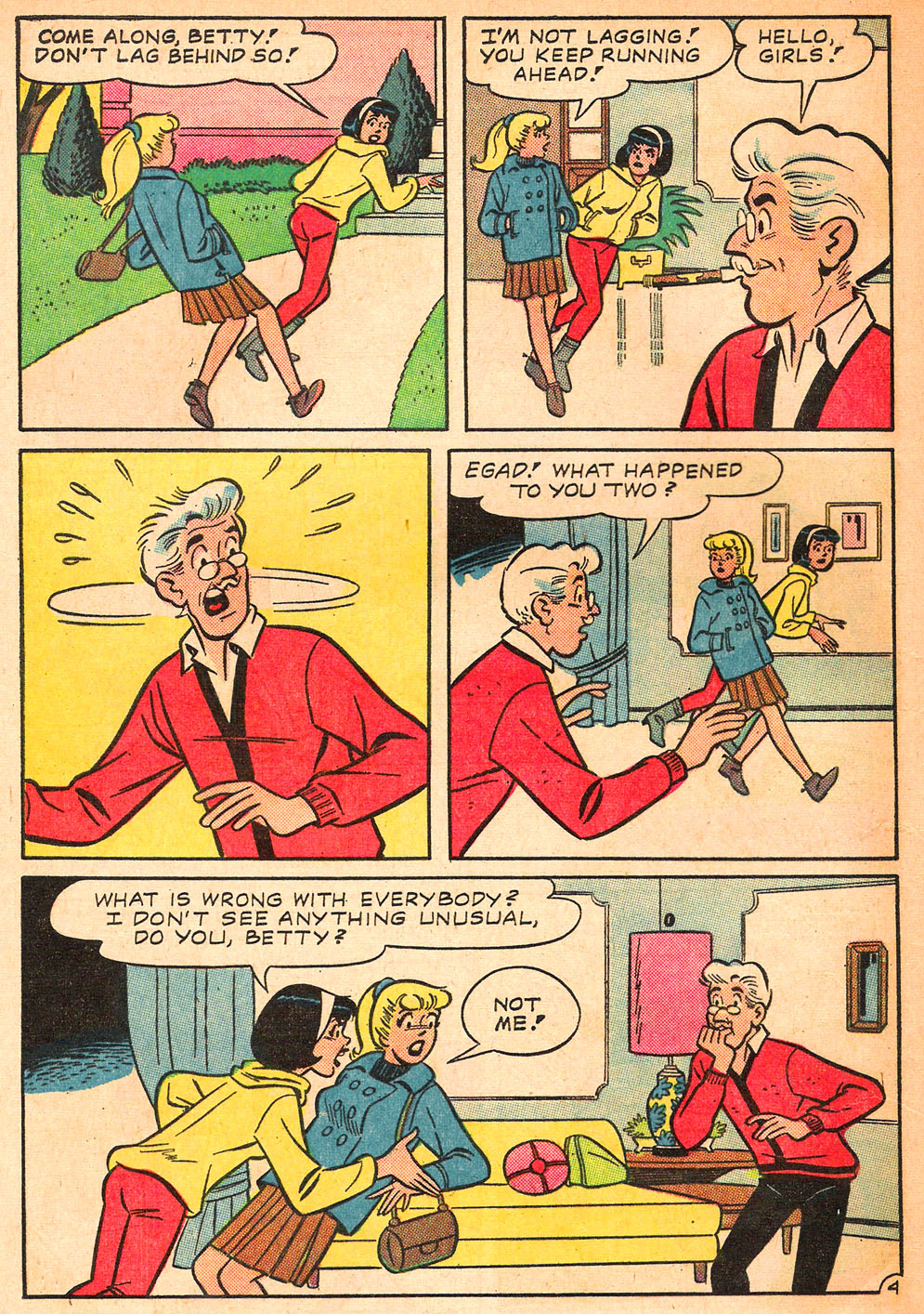 Read online Archie's Girls Betty and Veronica comic -  Issue #122 - 16