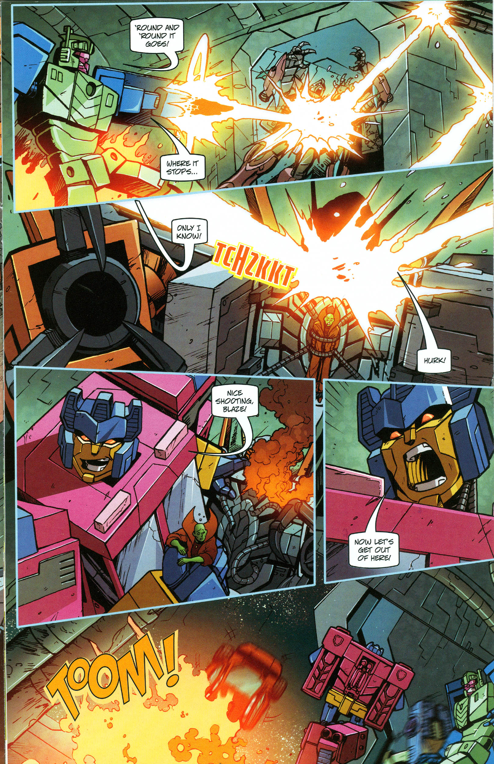 Read online Transformers: Collectors' Club comic -  Issue #48 - 7