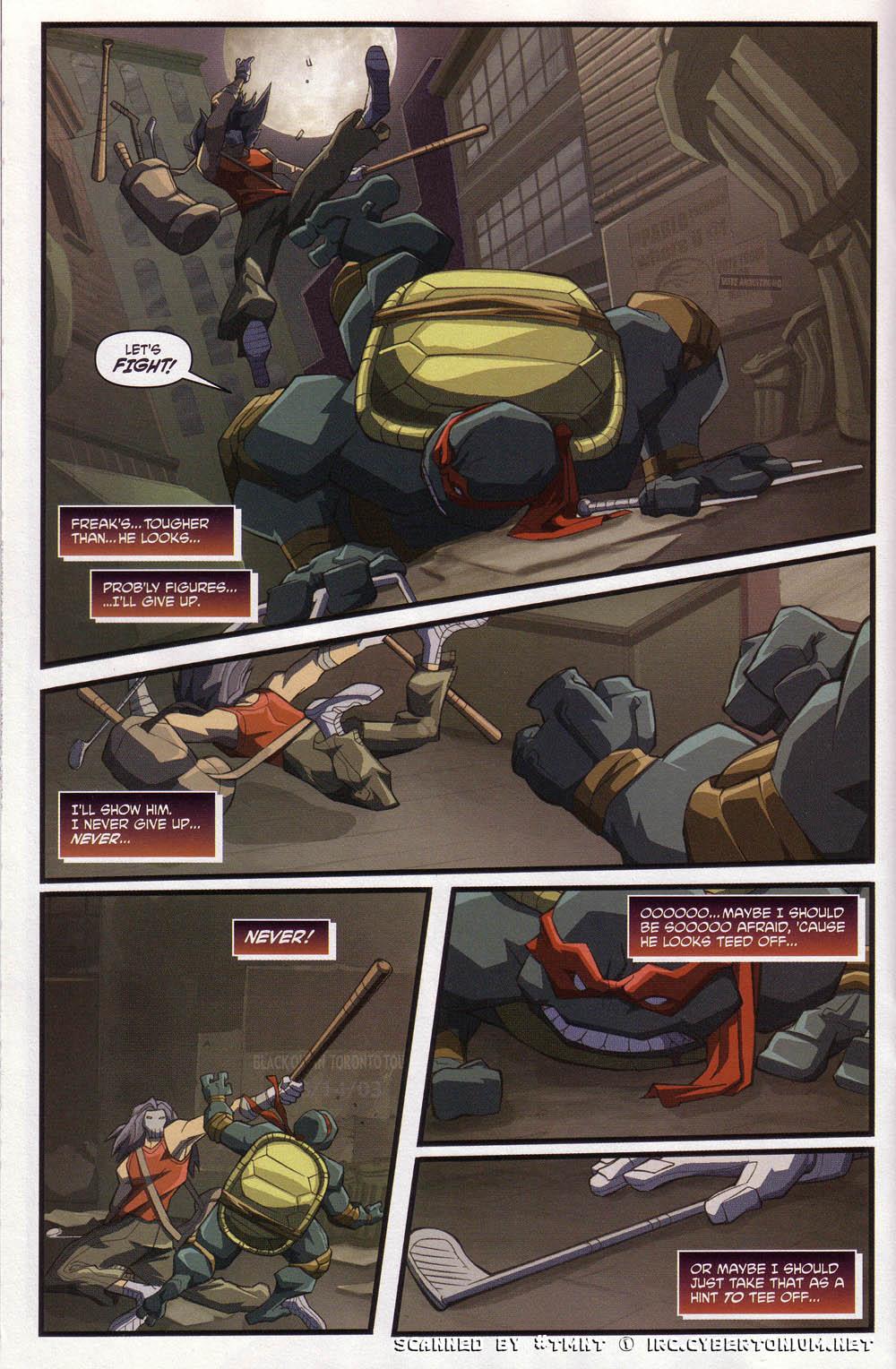 Teenage Mutant Ninja Turtles (2003) issue 4 - Page 16