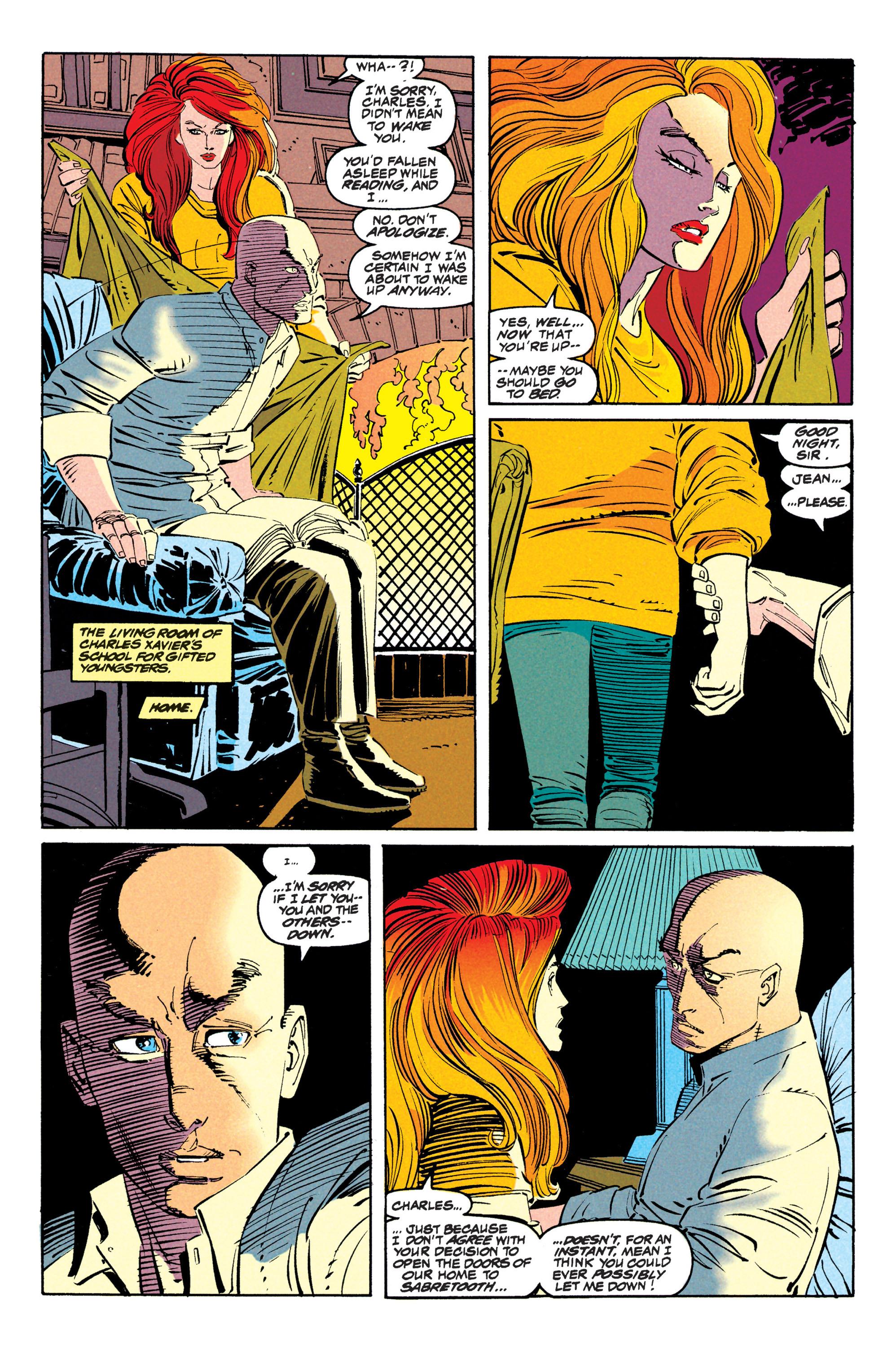 Read online Uncanny X-Men (1963) comic -  Issue #309 - 17