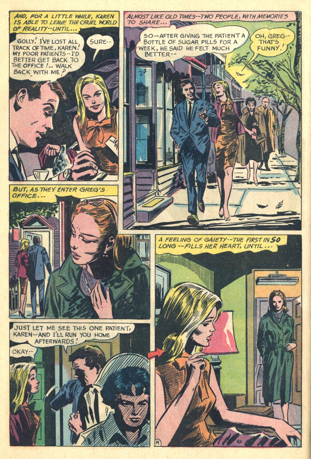 Read online Secret Hearts comic -  Issue #110 - 32