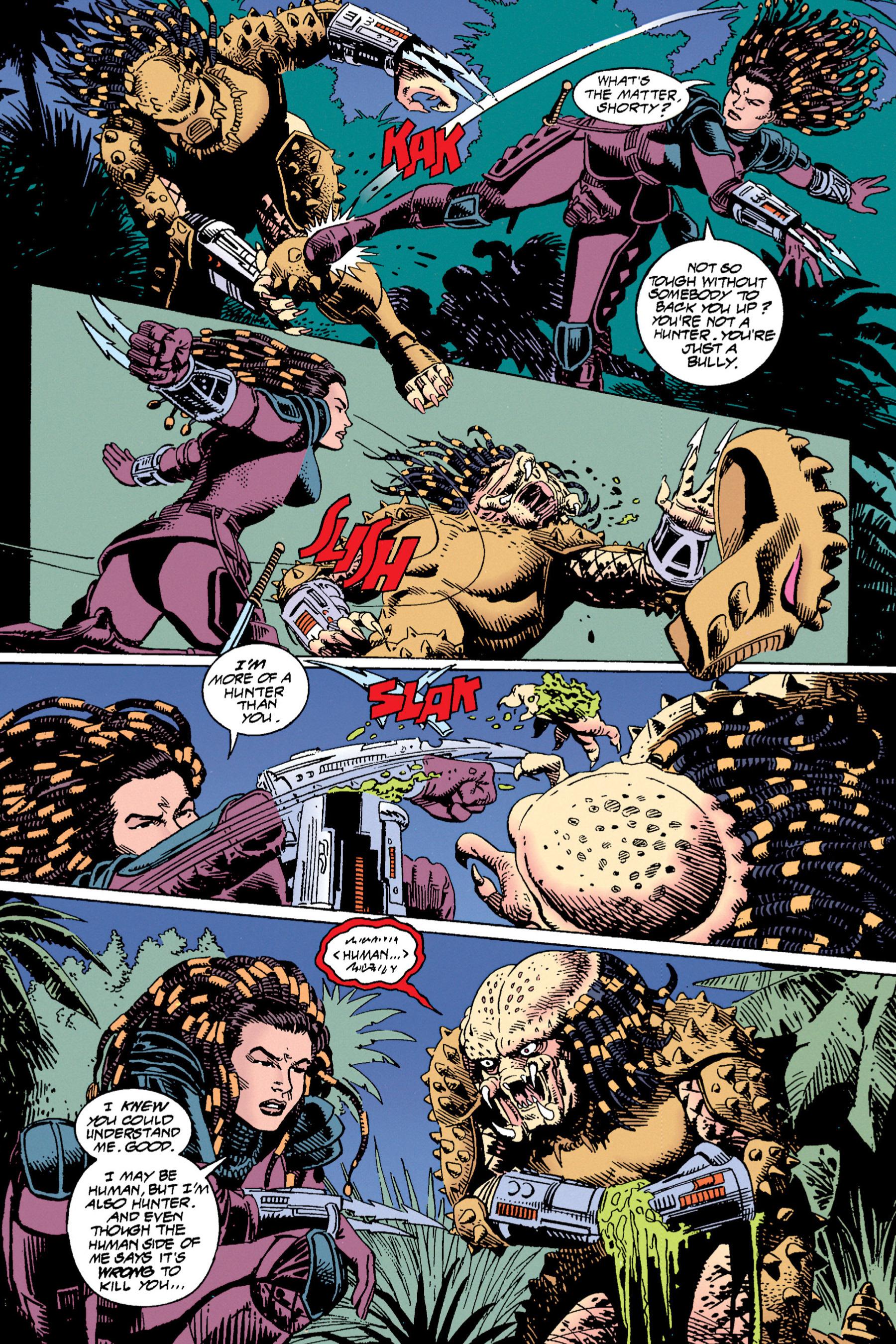 Read online Aliens vs. Predator Omnibus comic -  Issue # _TPB 1 Part 4 - 32