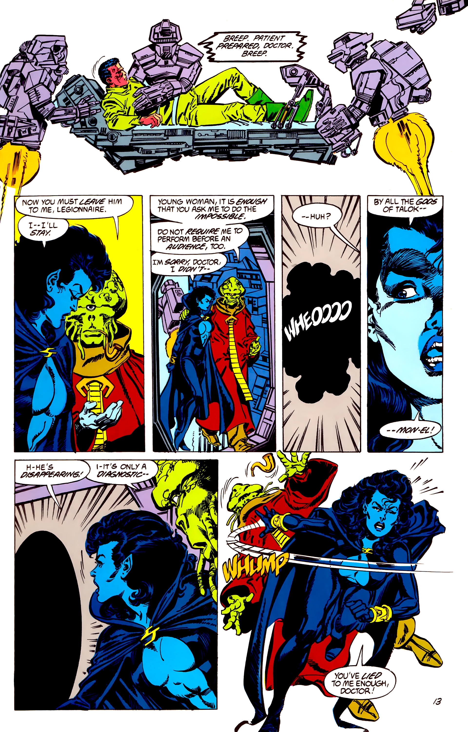 Legion of Super-Heroes (1984) 56 Page 13