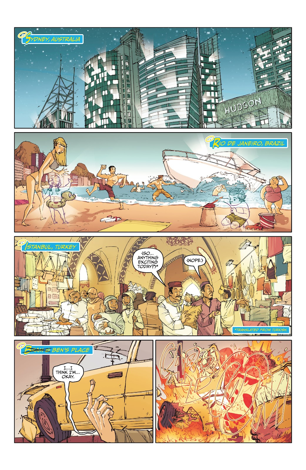 Read online The End Times of Bram and Ben comic -  Issue #1 - 7