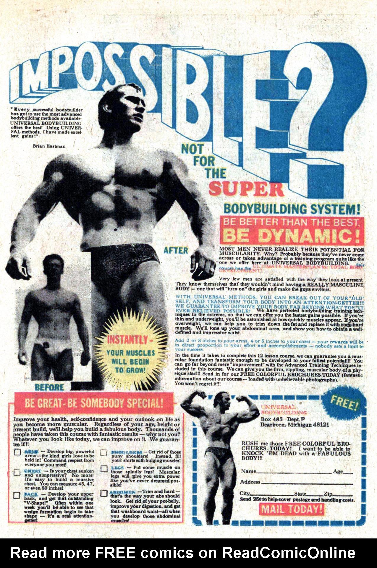 Read online Amazing Adventures (1970) comic -  Issue #29 - 23