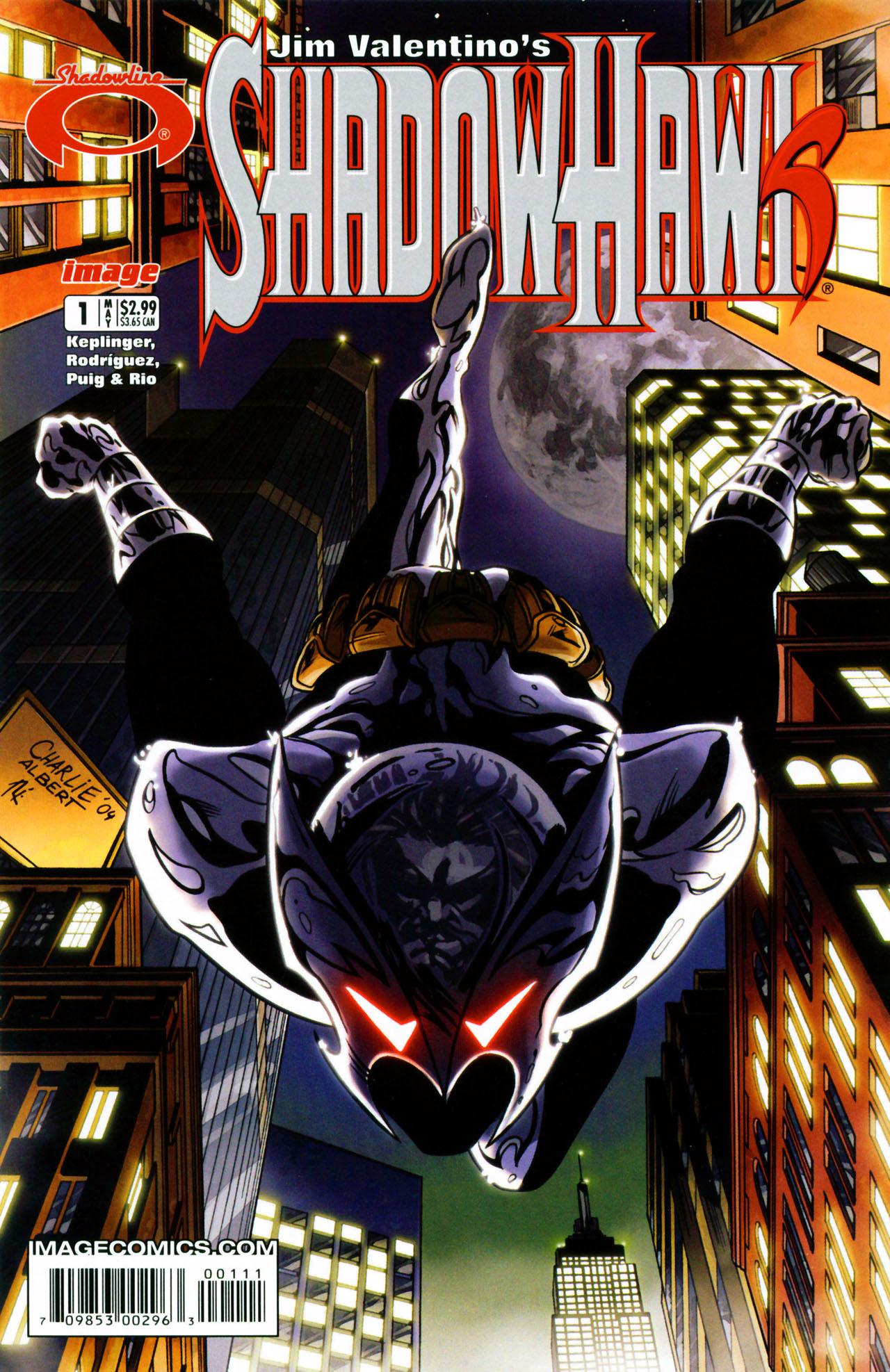 Read online ShadowHawk (2005) comic -  Issue #1 - 1