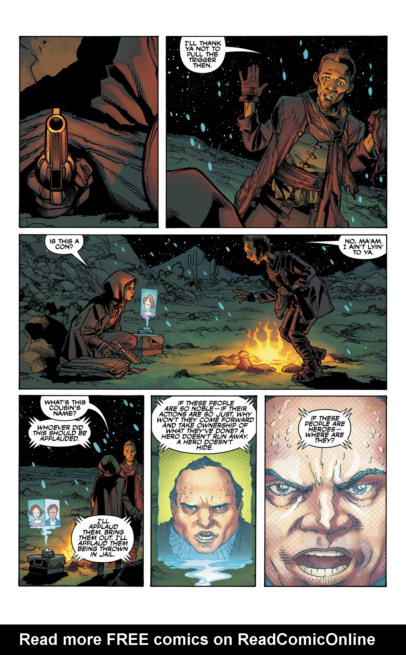Read online Serenity: Firefly Class 03-K64  Leaves on the Wind comic -  Issue #1 - 10