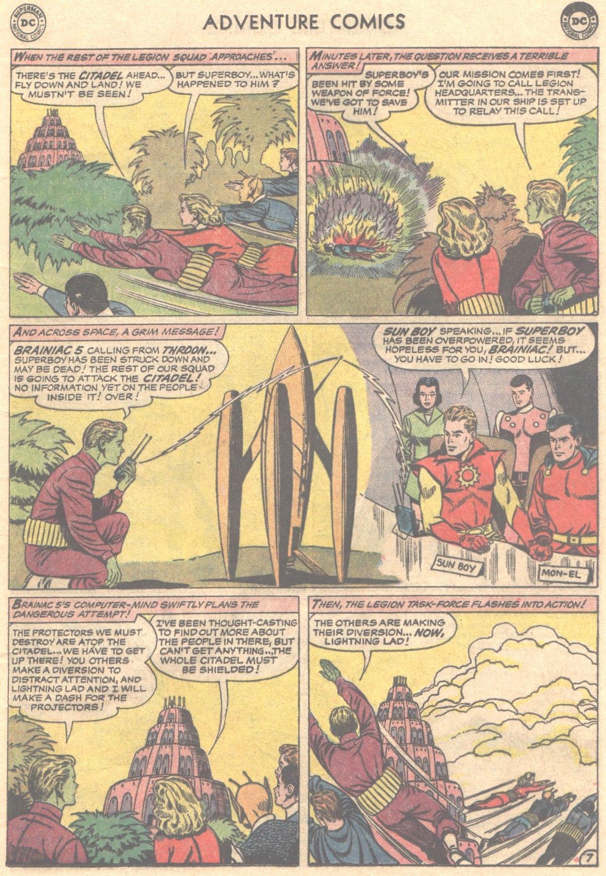 Read online Adventure Comics (1938) comic -  Issue #319 - 10