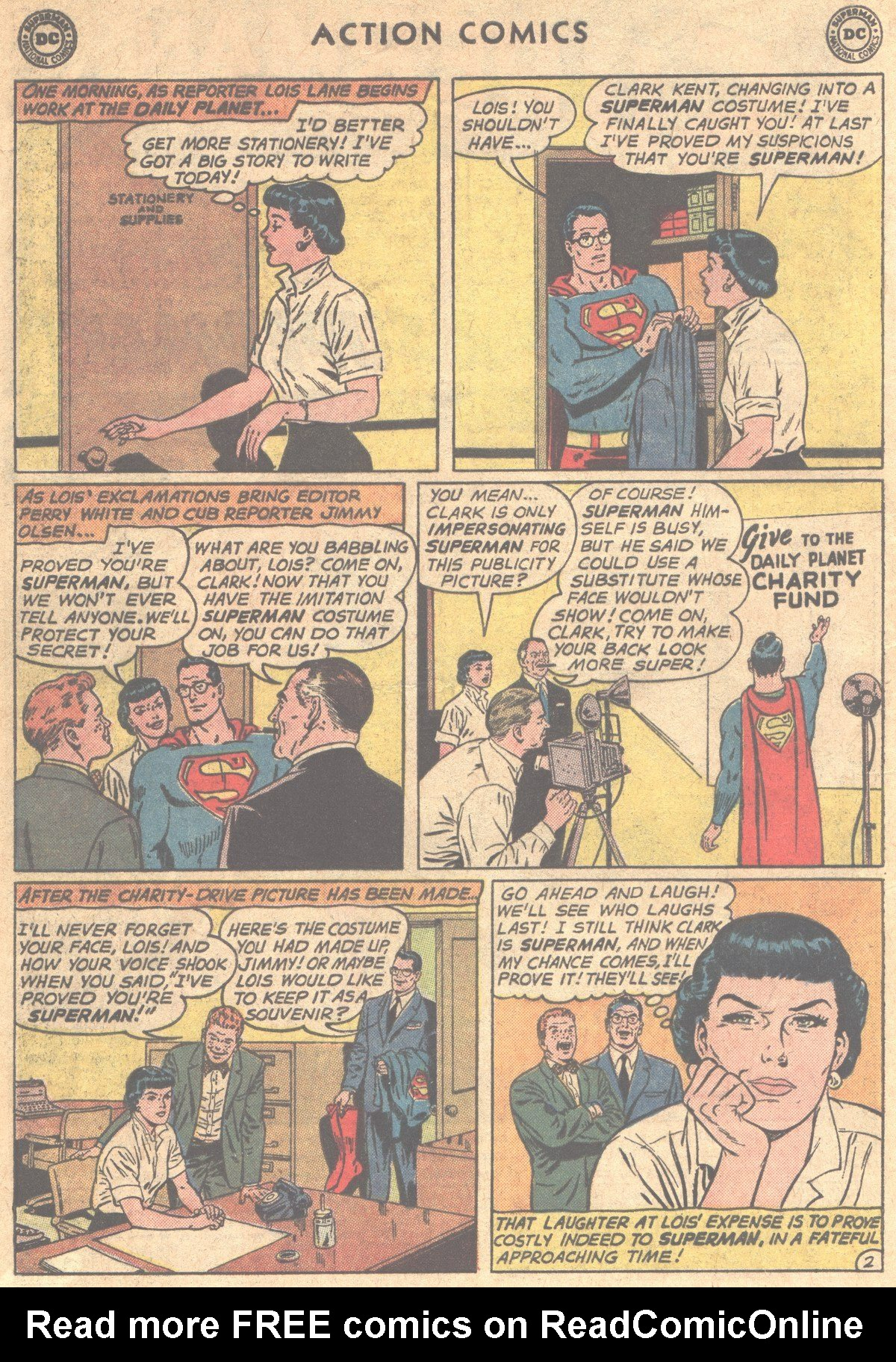 Read online Action Comics (1938) comic -  Issue #290 - 4