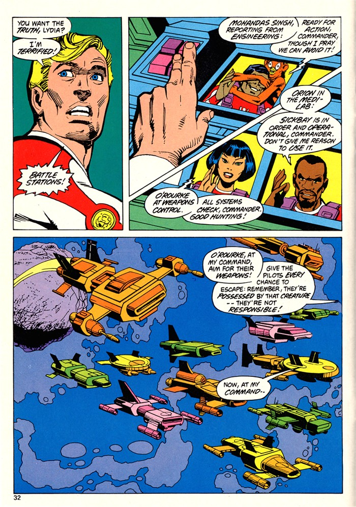 Read online Atari Force (1982) comic -  Issue #5 - 34