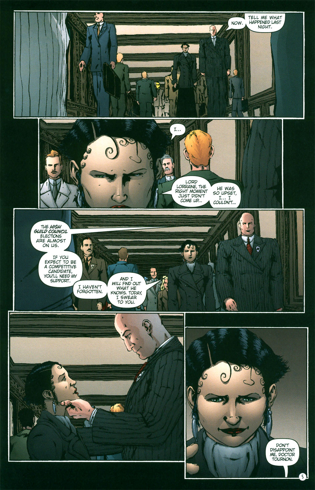 Read online Rex Mundi comic -  Issue #3 - 7