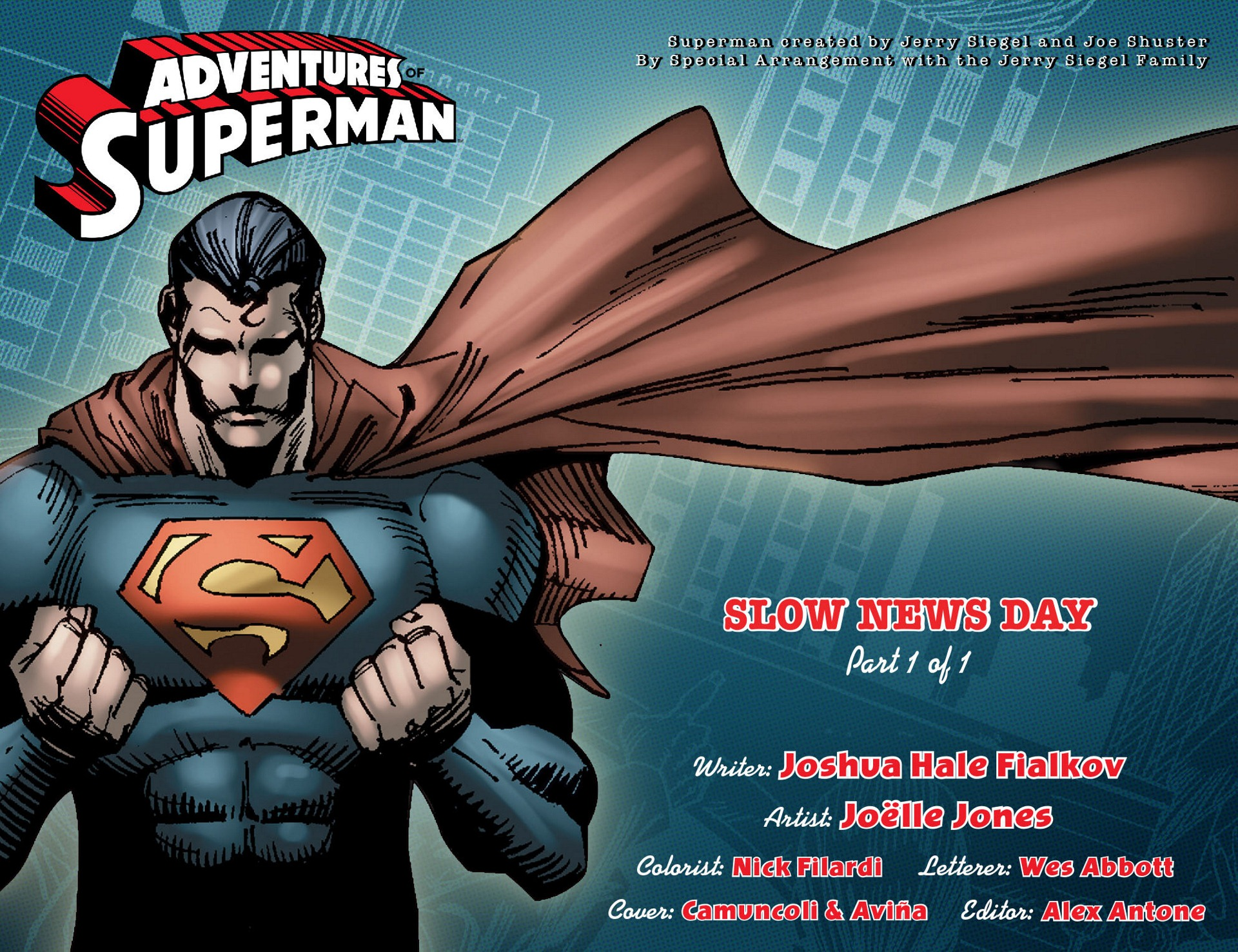 Read online Adventures of Superman [I] comic -  Issue #5 - 2