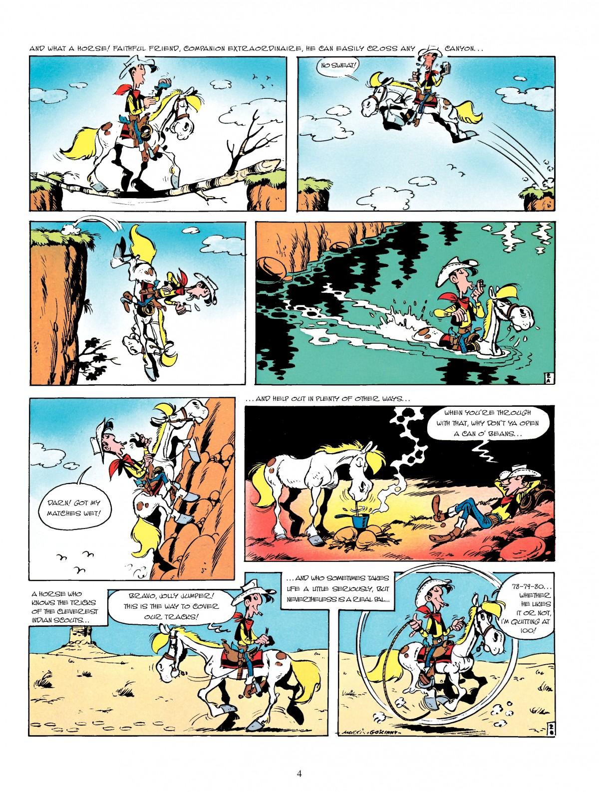 Read online A Lucky Luke Adventure comic -  Issue #4 - 6