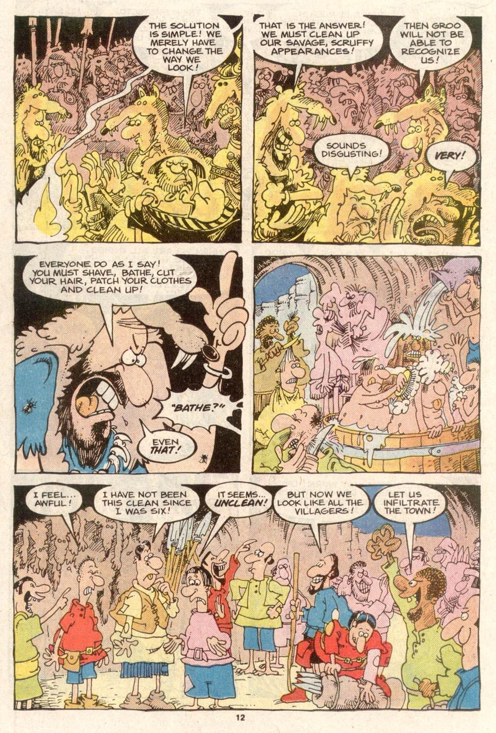 Read online Sergio Aragonés Groo the Wanderer comic -  Issue #49 - 12