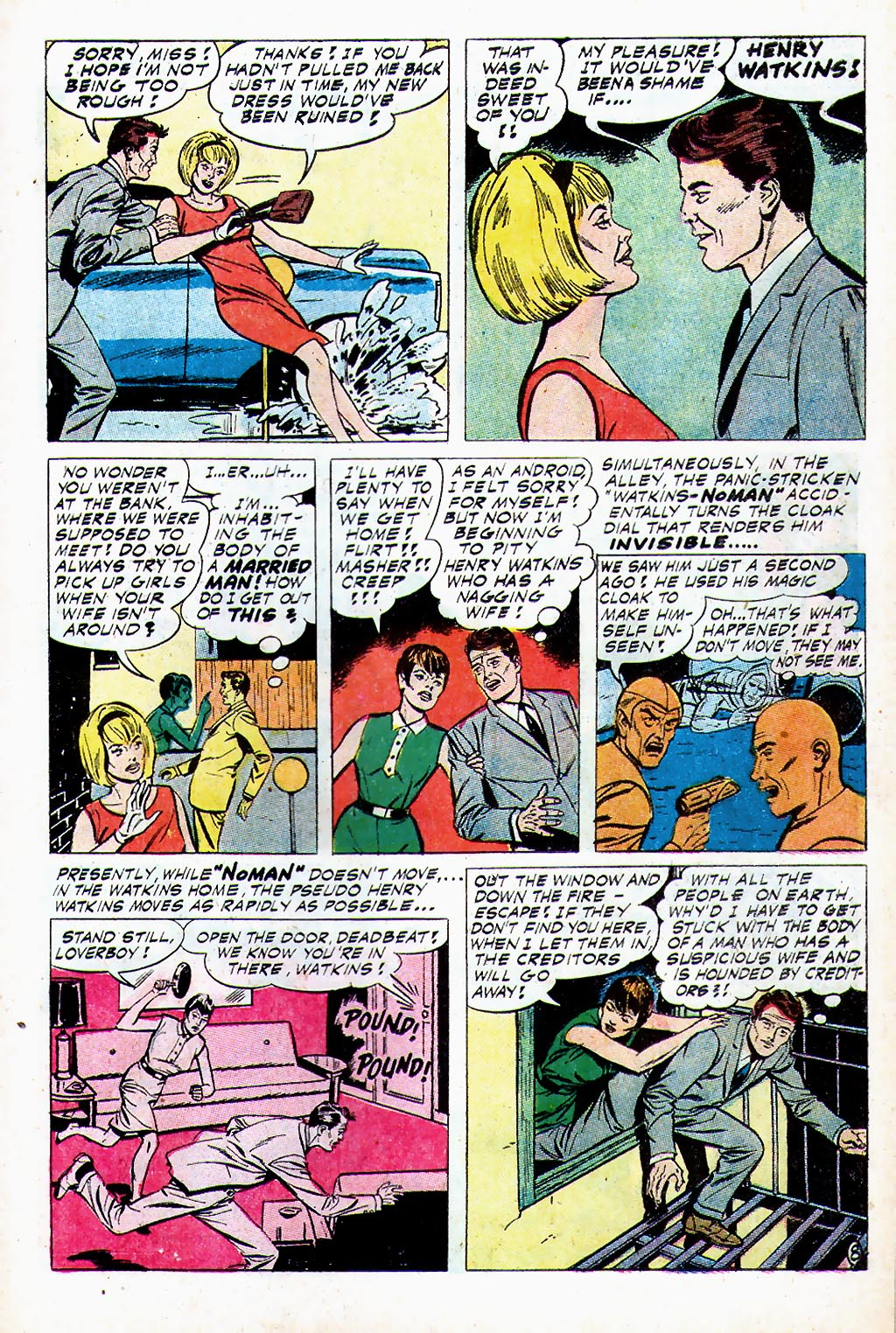 T.H.U.N.D.E.R. Agents (1965) issue 13 - Page 19