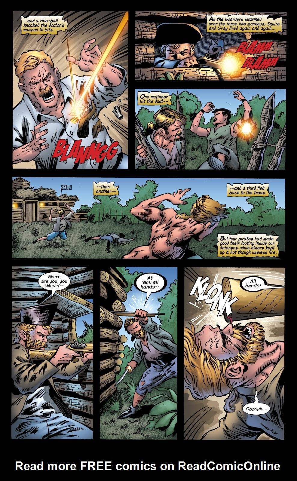 Read online Treasure Island comic -  Issue #4 - 9
