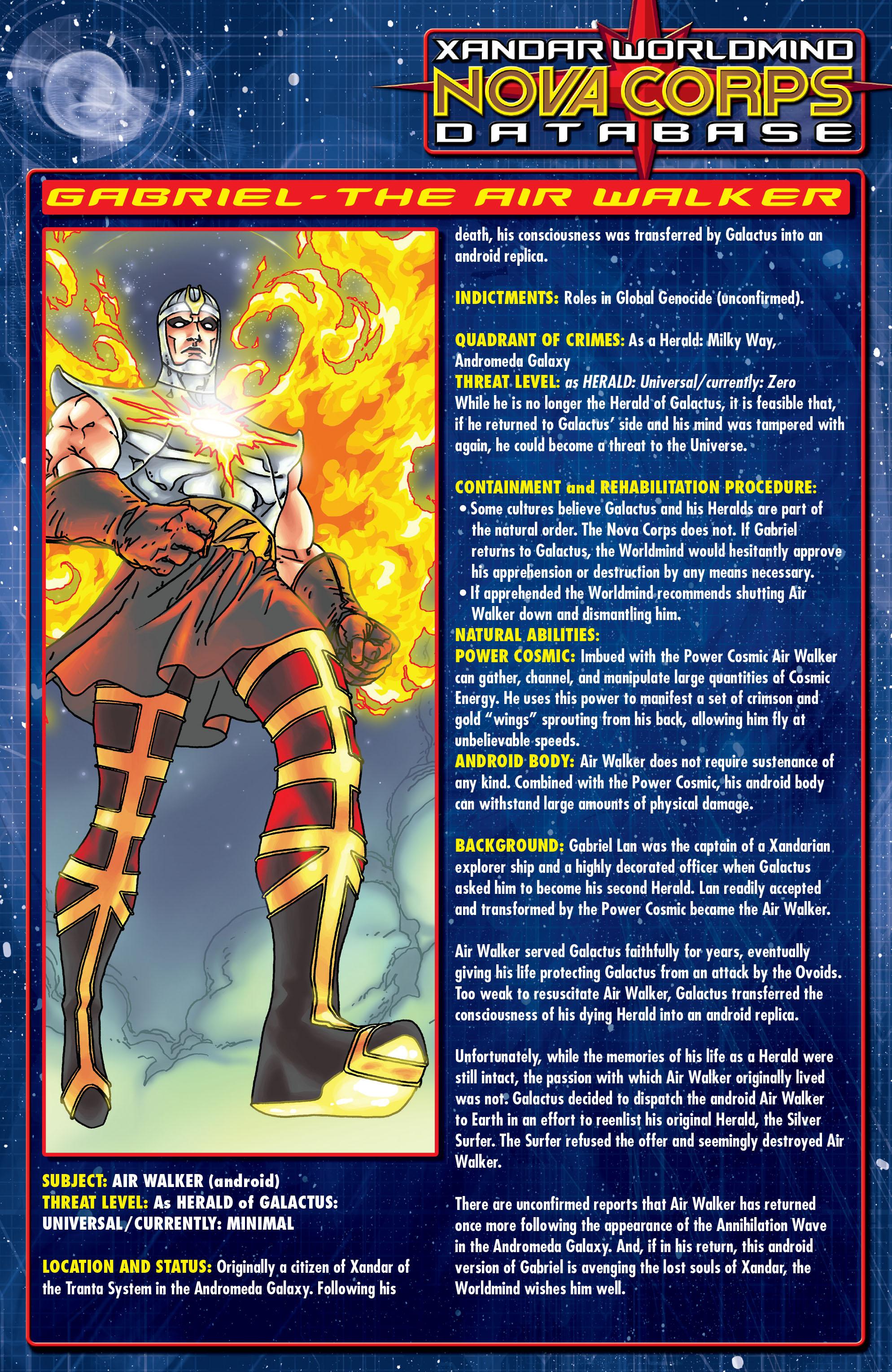 Read online Annihilation: Silver Surfer comic -  Issue #1 - 25