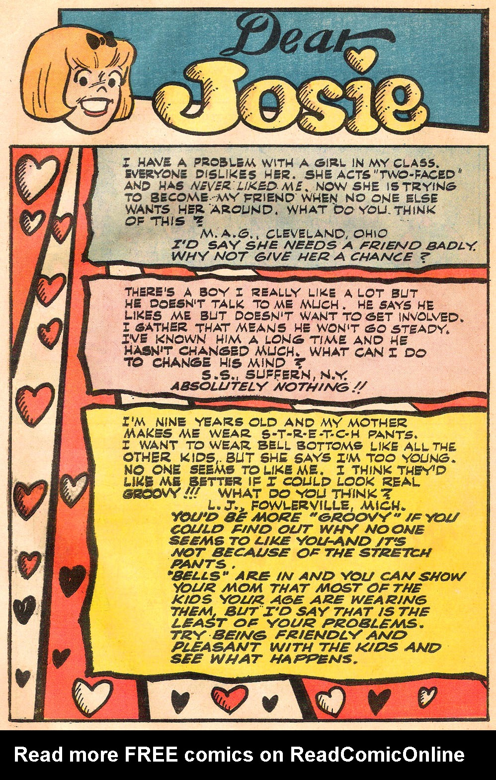 Read online She's Josie comic -  Issue #73 - 42