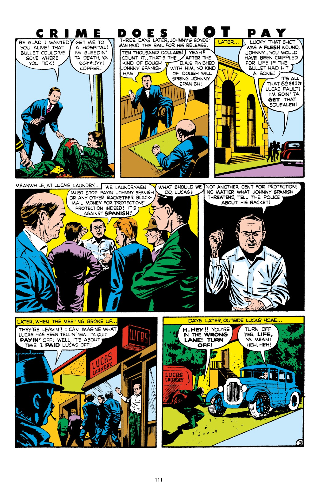 Read online Crime Does Not Pay Archives comic -  Issue # TPB 8 (Part 2) - 12