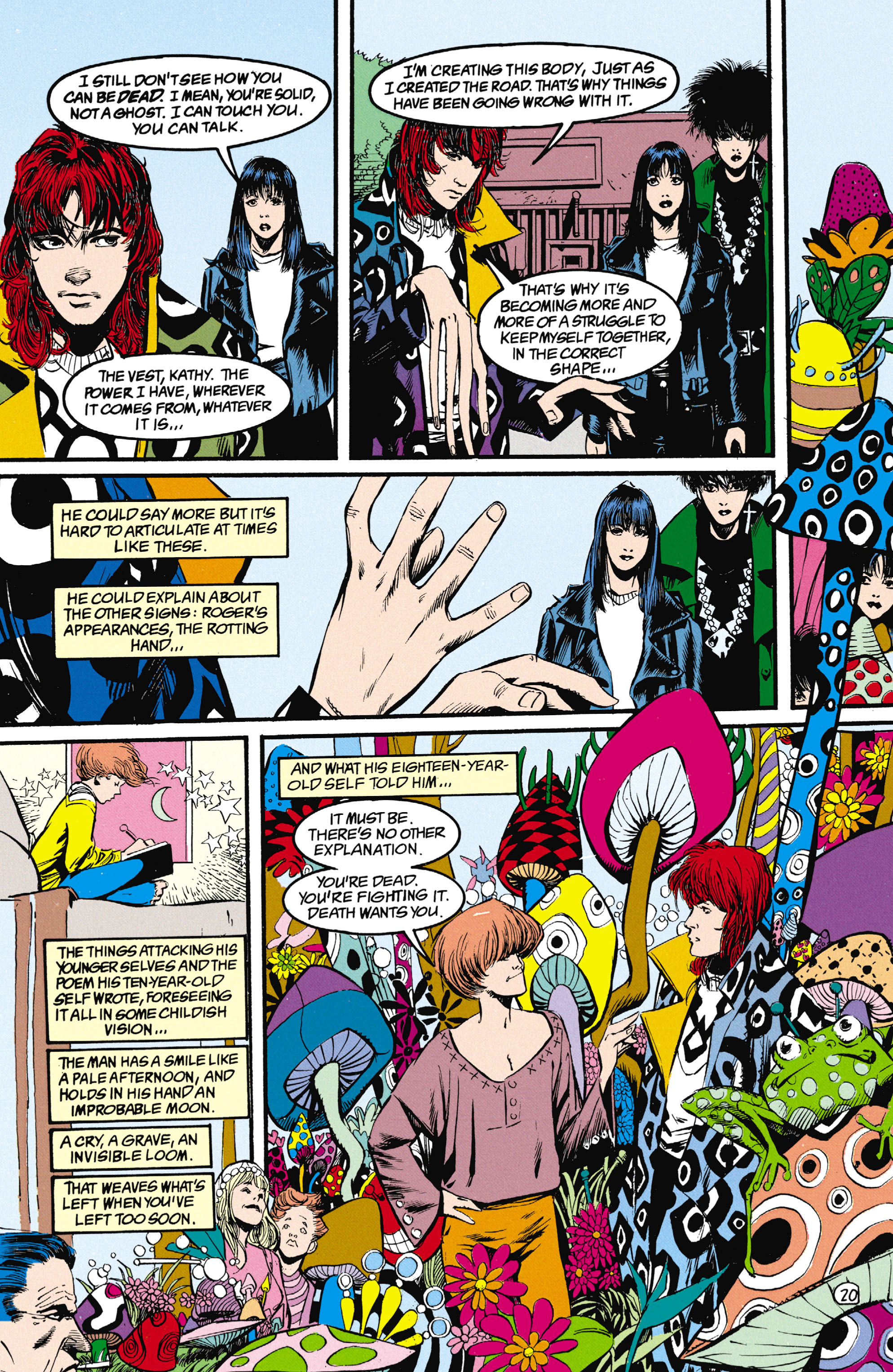 Read online Shade, the Changing Man comic -  Issue #25 - 21