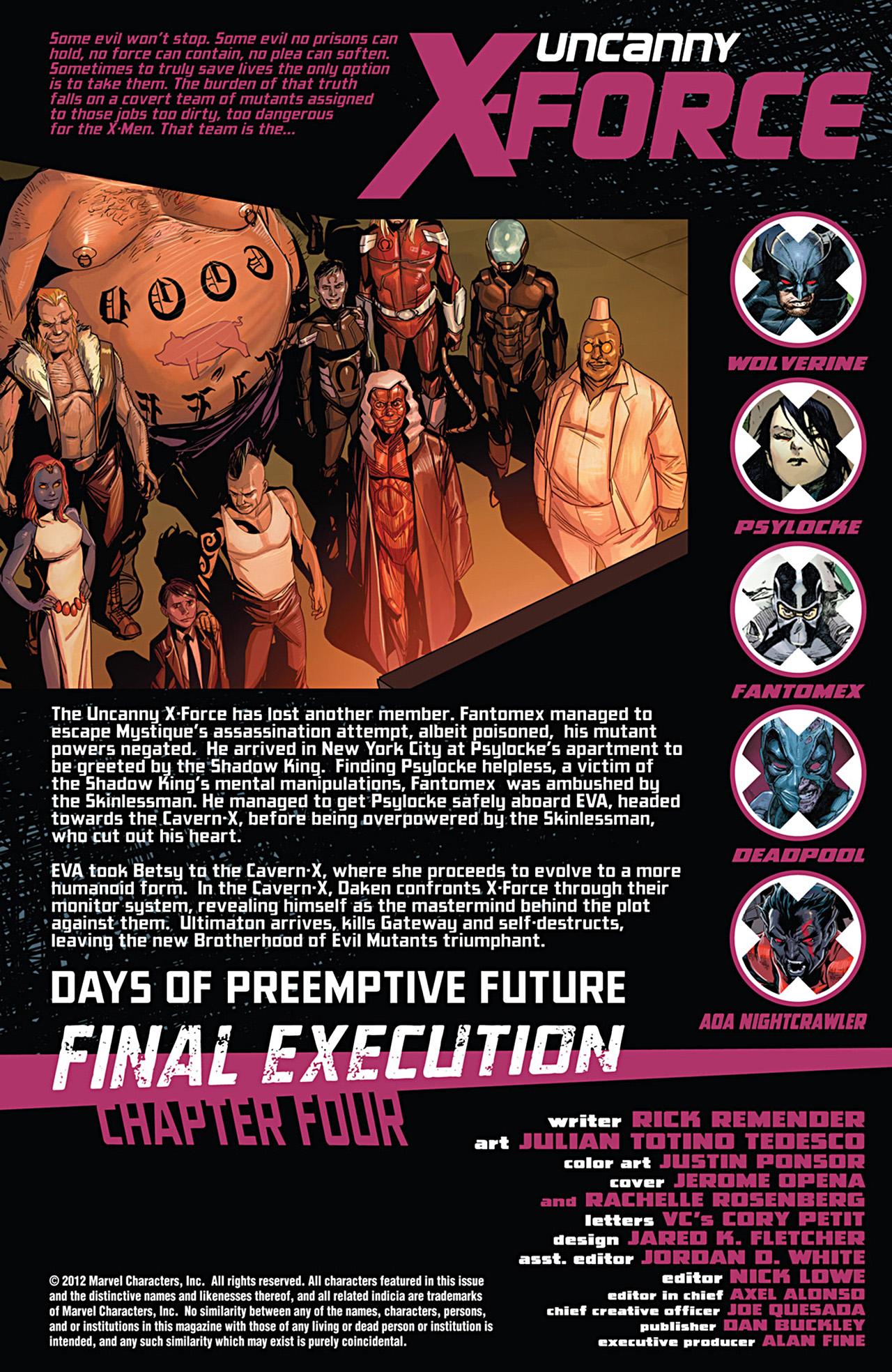 Uncanny X-Force (2010) #28 #30 - English 2
