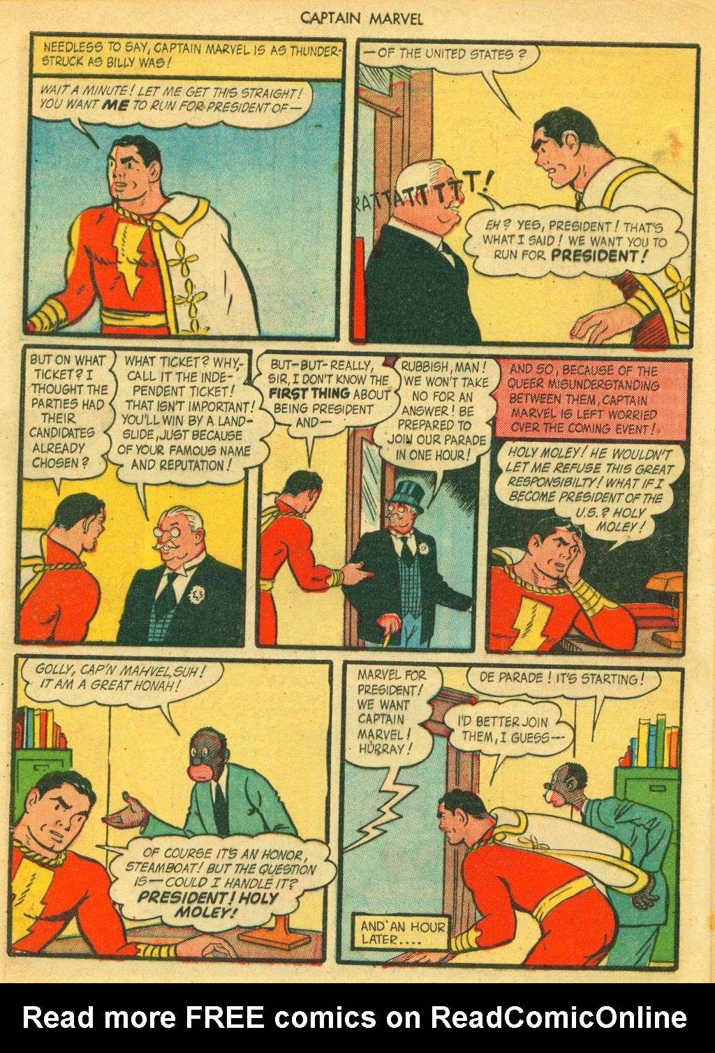 Captain Marvel Adventures issue 41 - Page 32