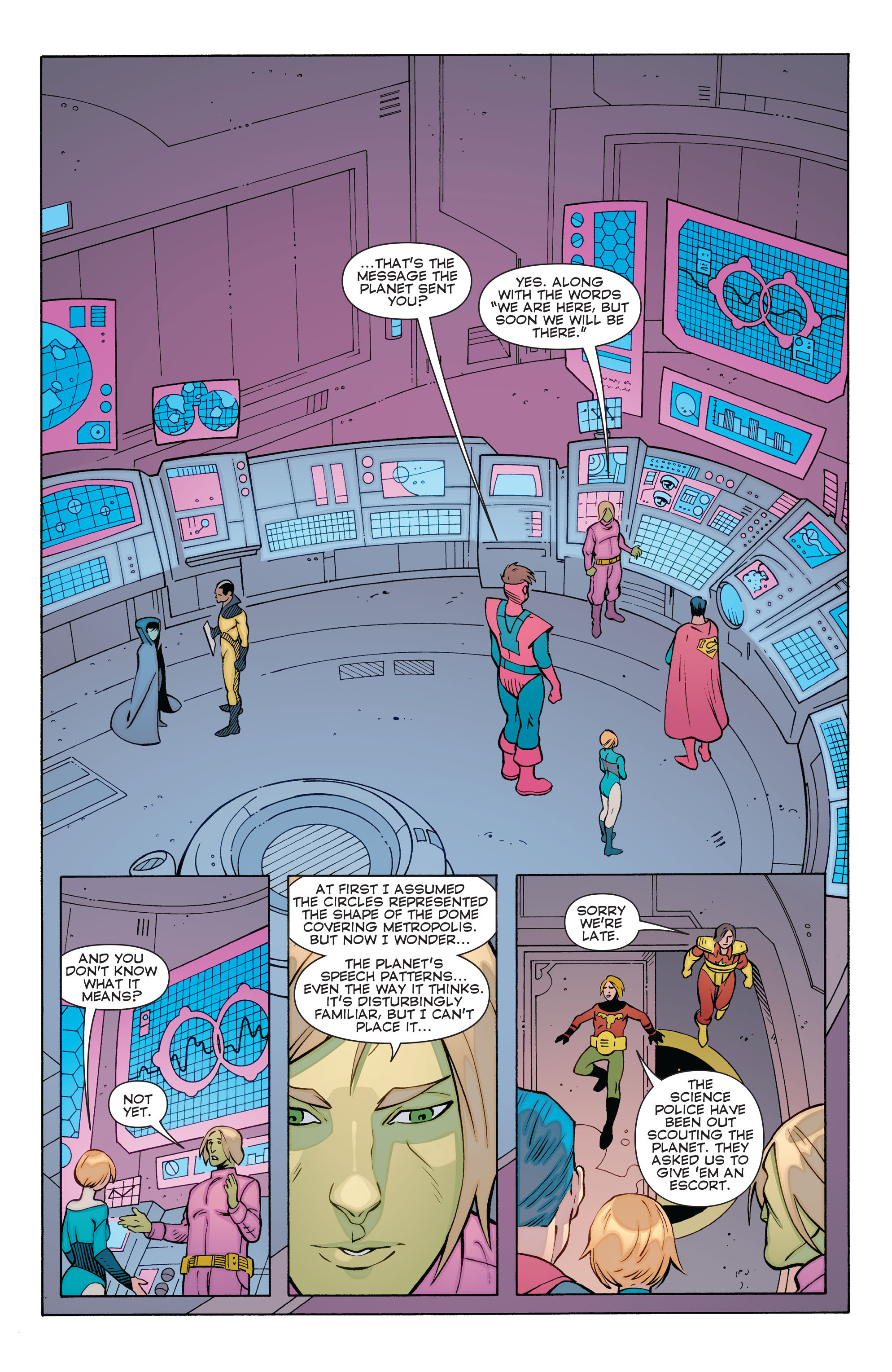 Read online Convergence Superboy and the Legion of Super-Heroes comic -  Issue #1 - 18