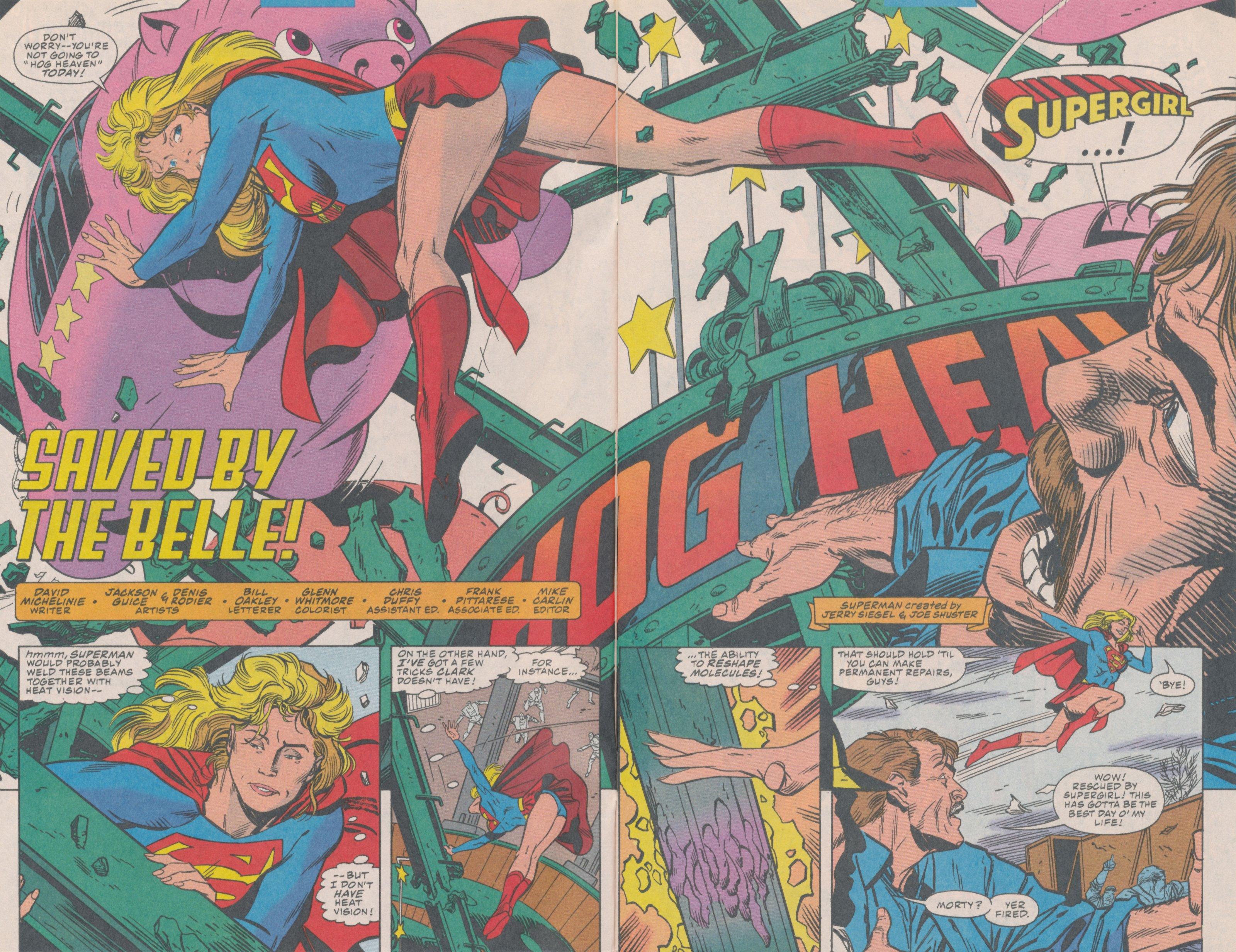 Read online Action Comics (1938) comic -  Issue #706 - 4