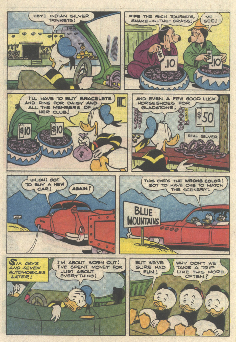 Read online Uncle Scrooge (1953) comic -  Issue #216 - 32