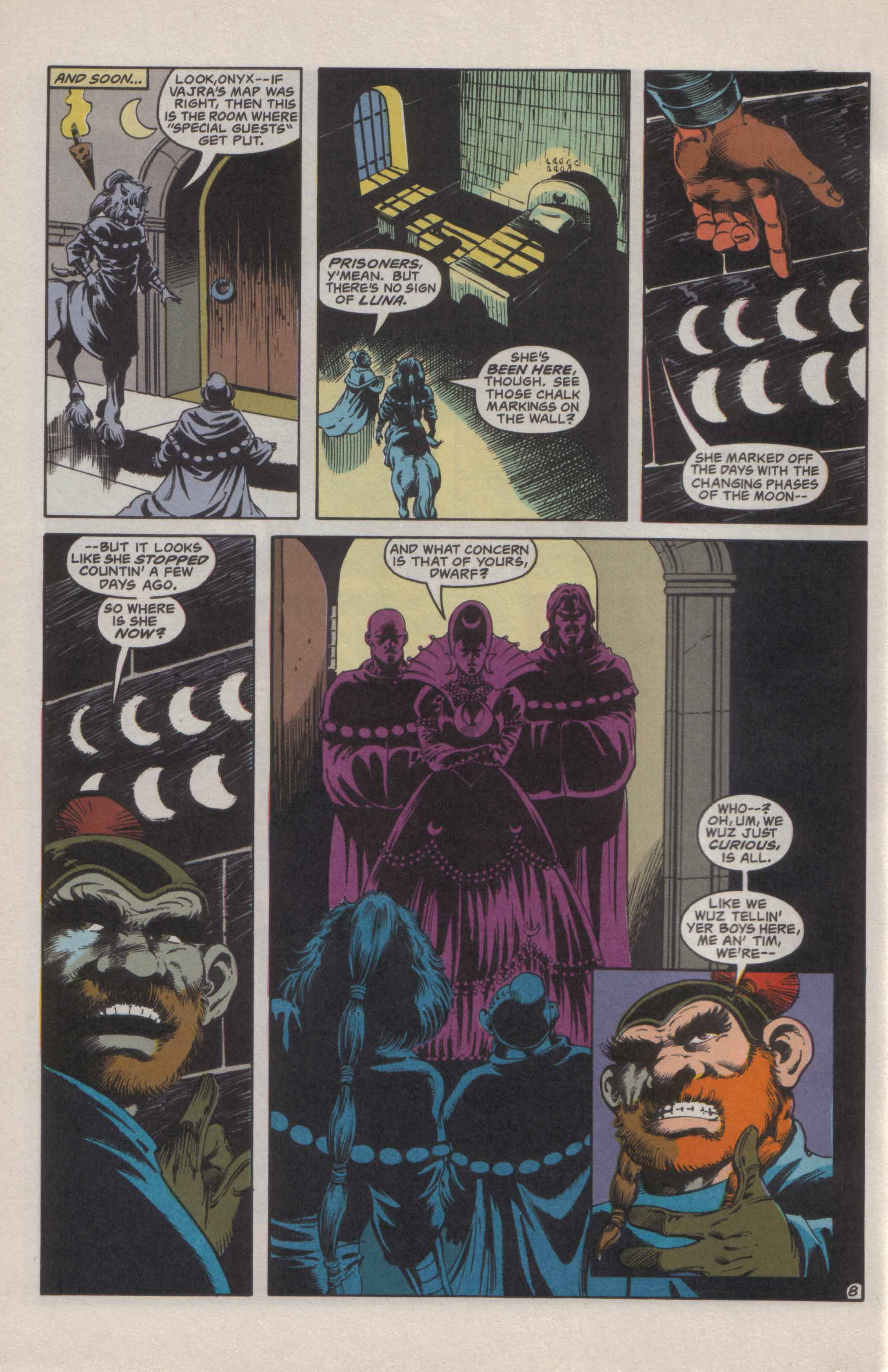 Read online Advanced Dungeons & Dragons comic -  Issue #21 - 9